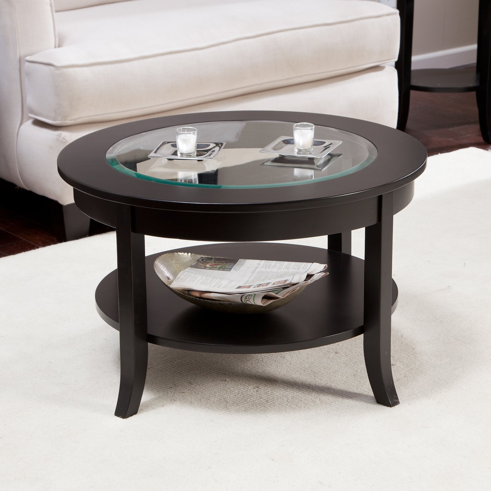 Torrin Round Cocktail Tables For Fashionable Exciting Small Glass Coffee Table Style Design (View 10 of 20)