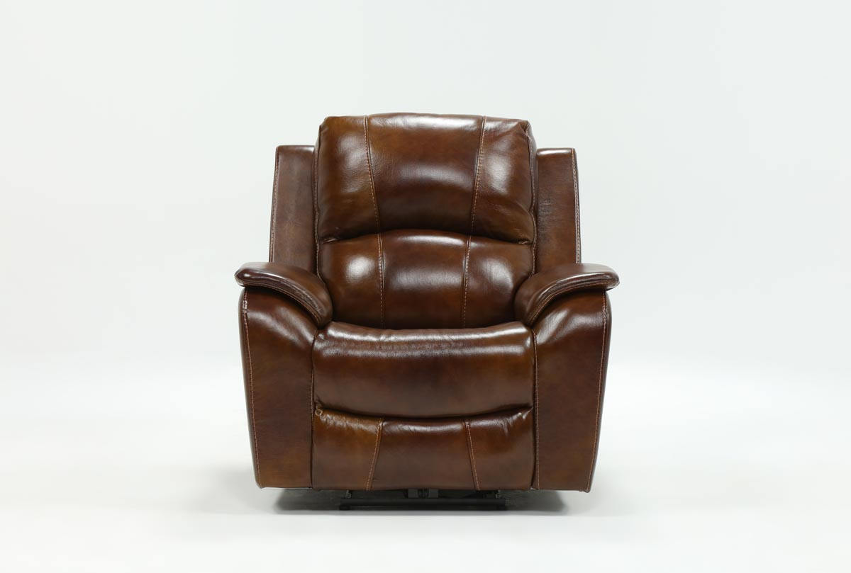 Travis Cognac Leather 6 Piece Power Reclining Sectionals With Power Headrest & Usb With Popular Travis Cognac Leather Power Recliner W/power Headrest And Usb (View 2 of 20)