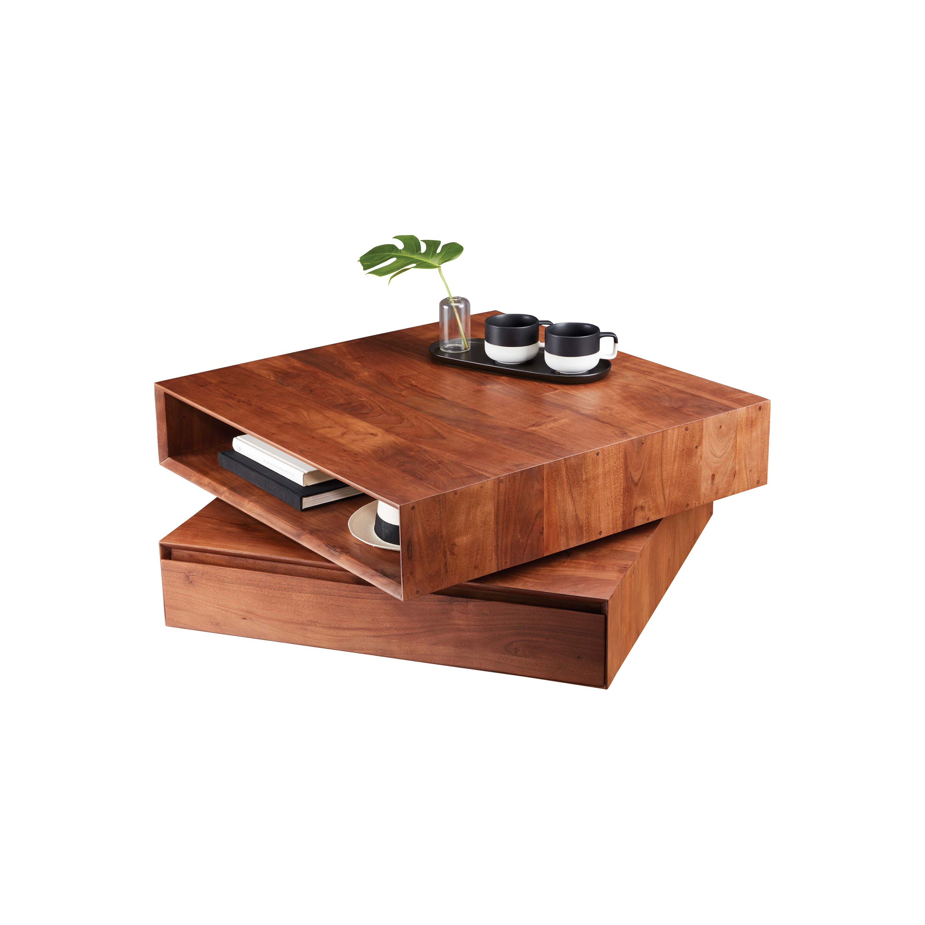 Trendy 6 Scene Stealing Coffee Tables We Love – Western Living Magazine For Spin Rotating Coffee Tables (View 18 of 20)