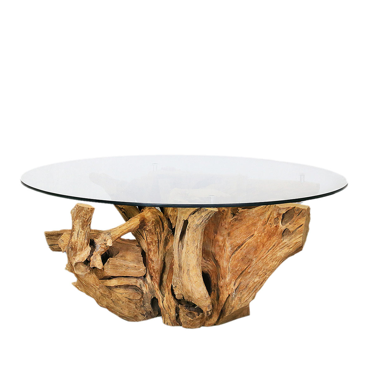 Trendy Amazone – Coffee Table Broll (W/round Glass) (View 19 of 20)