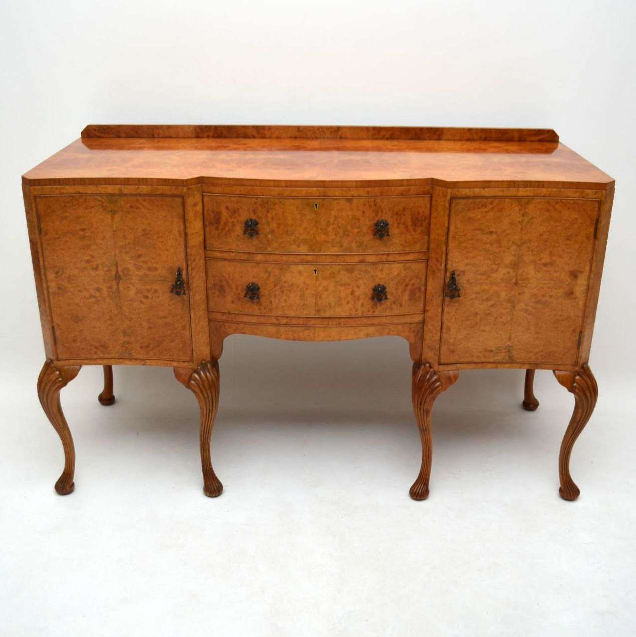 Trendy Antique Walnut & Burr Maple Sideboardepstein (View 15 of 20)