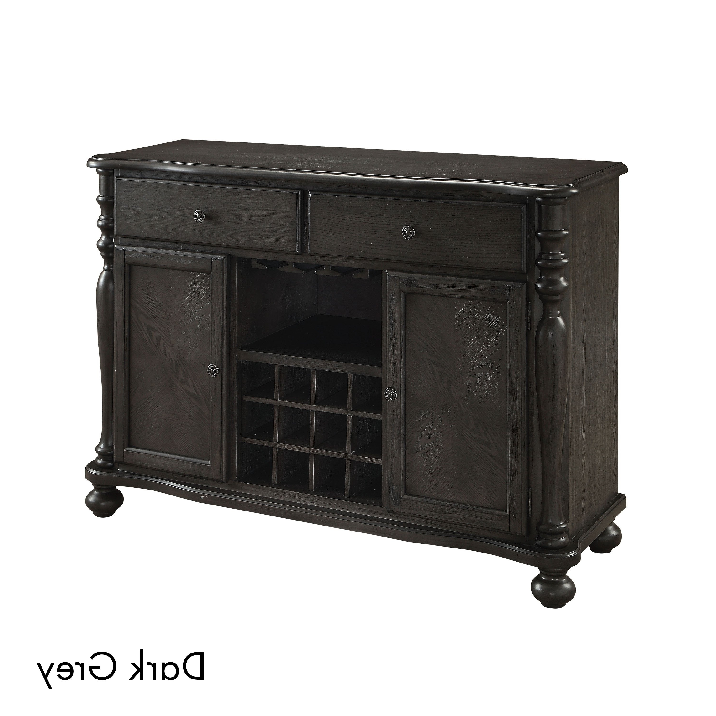 Trendy Buy Grey Buffets, Sideboards & China Cabinets Online At Overstock Regarding Vintage 8 Glass Sideboards (Gallery 9 of 20)
