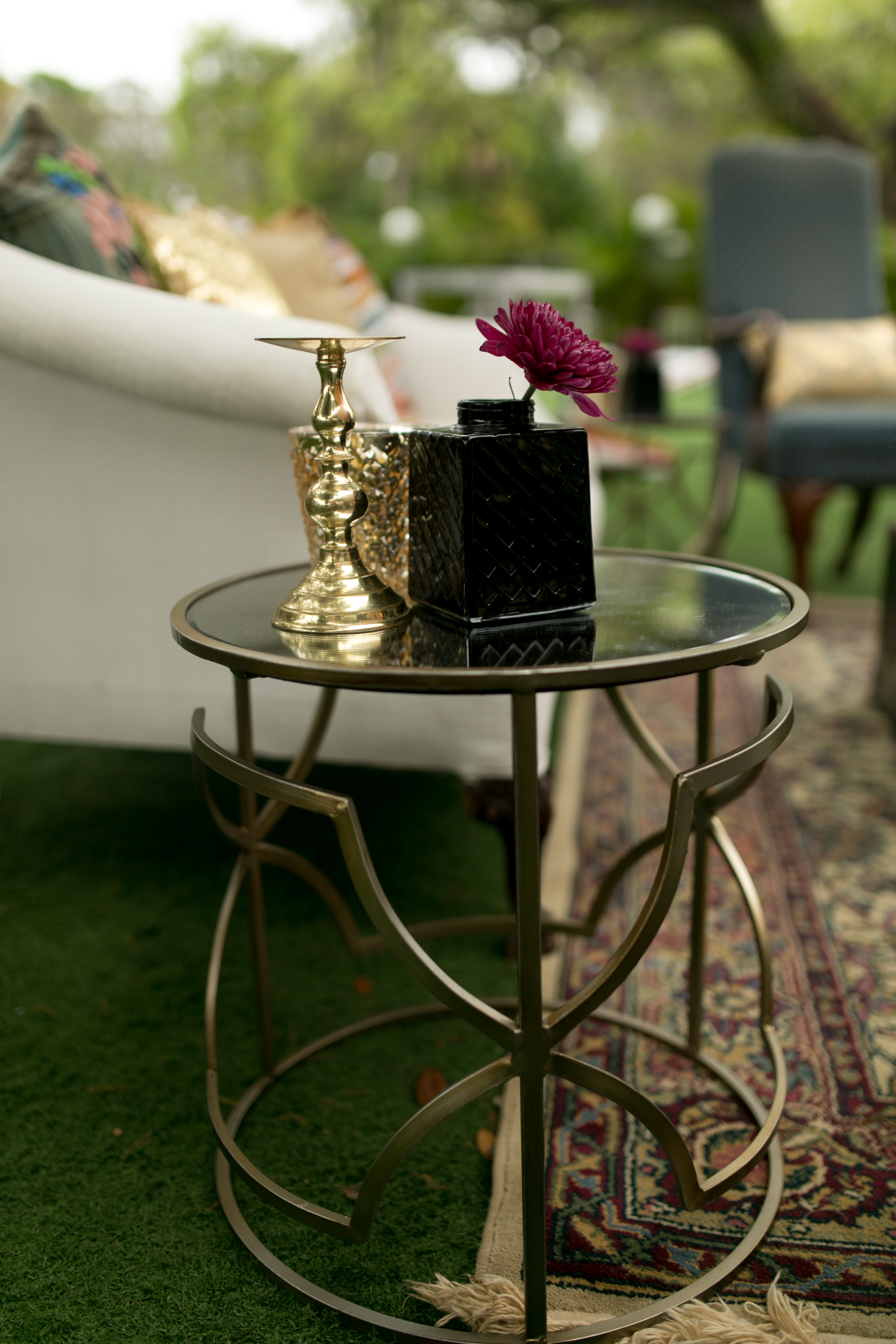 Trendy Champagne Geo End Table – Lrg (2)+Sm (2) (View 19 of 20)