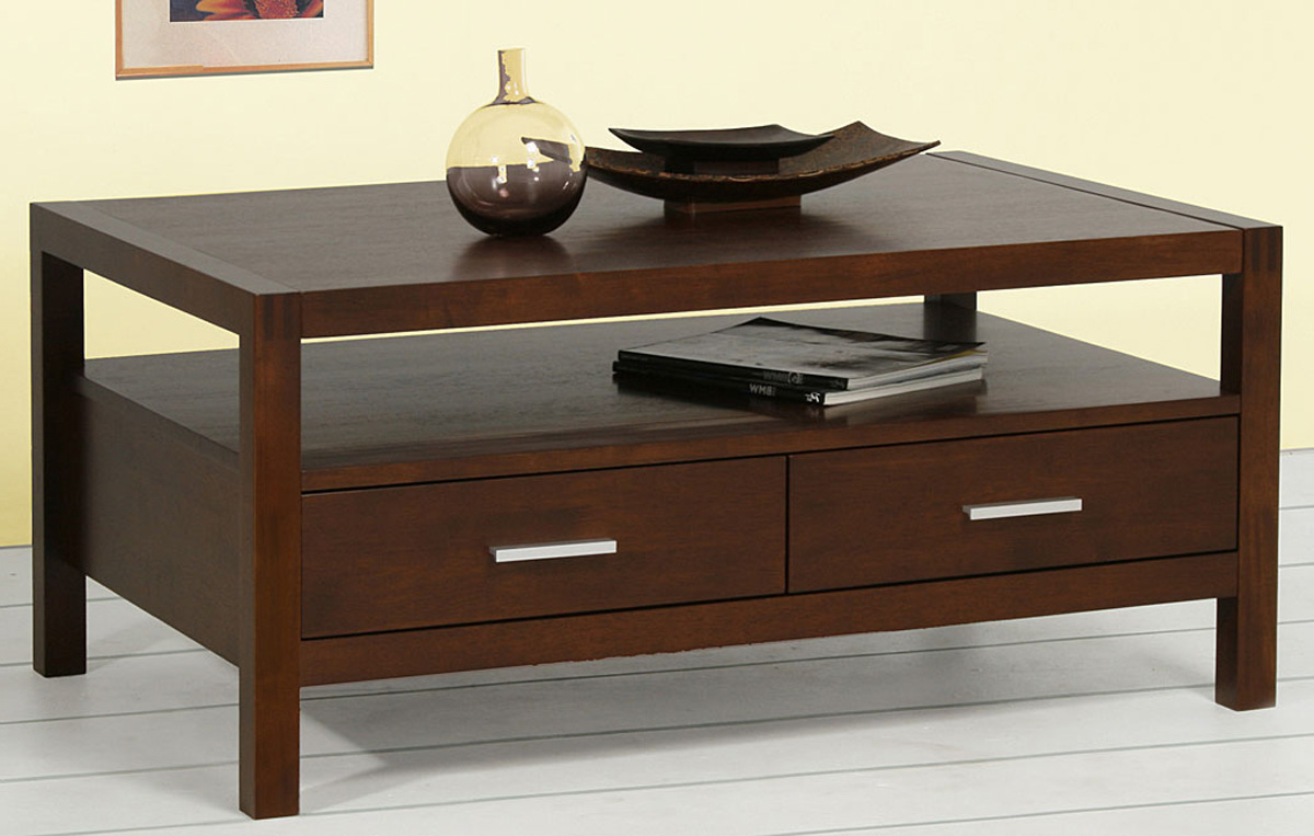 Trendy Coffee Table: Mesmerizing Coffee Table With Drawers Coffee Table Inside Walnut 4 Drawer Coffee Tables (View 16 of 20)