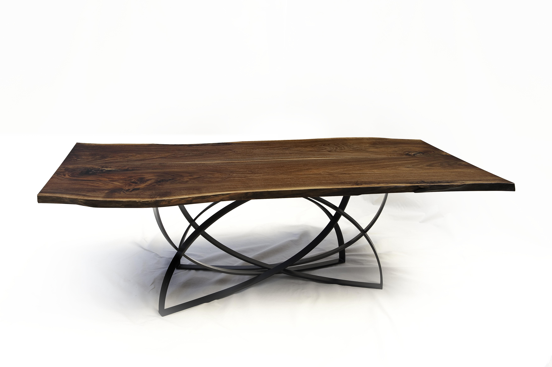 Trendy Custom Live Edge Hardwood Tables (View 20 of 20)