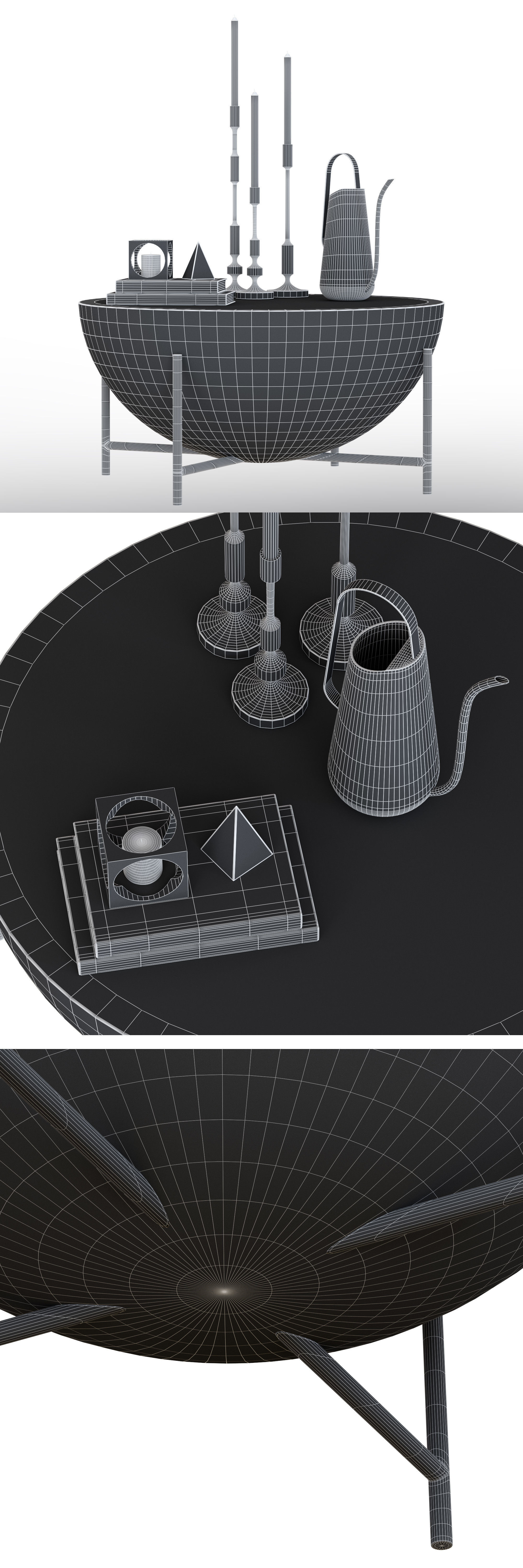 Trendy Darbuka Black Coffee Tables Pertaining To Cb2 Darbuka Brass Coffee Table 3d (View 8 of 20)