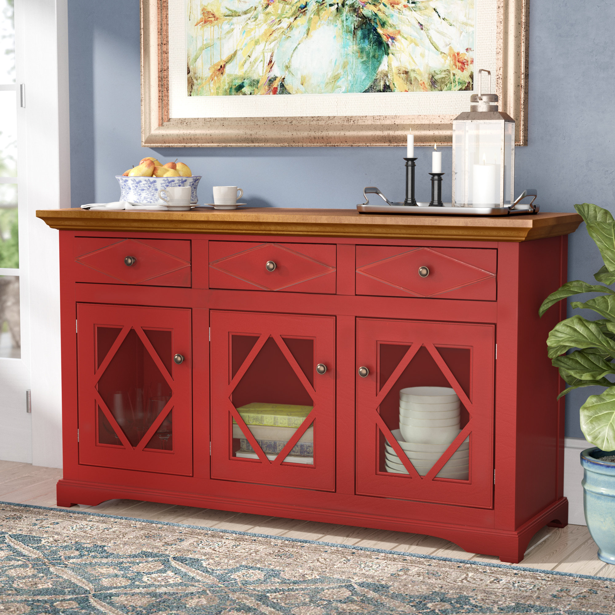 Trendy Darby Home Co Blackwater Sideboard & Reviews (Gallery 4 of 20)