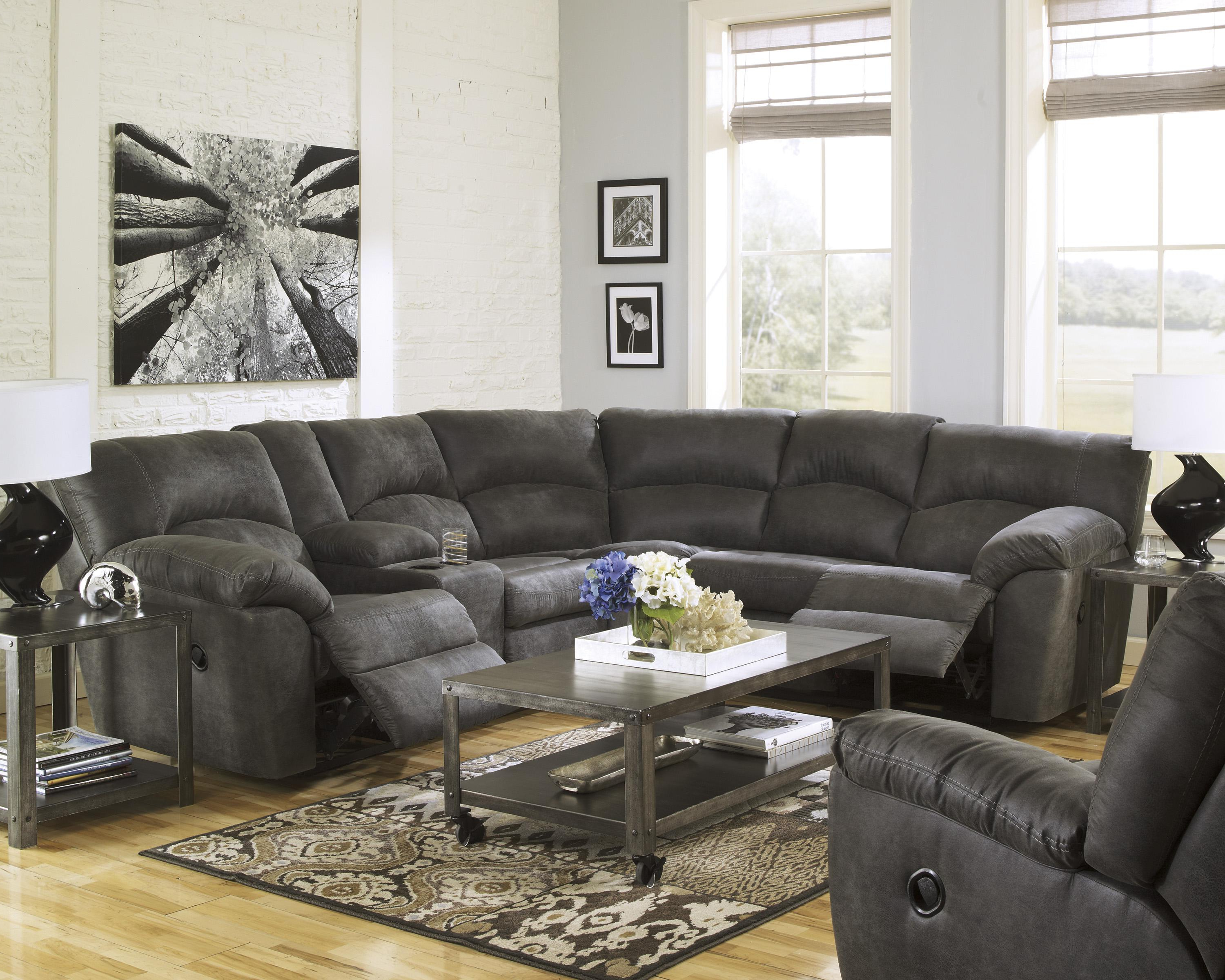 Trendy Denali Light Grey 6 Piece Reclining Sectionals With 2 Power Headrests Pertaining To Sectional Reclining Sofa – Locsbyhelenelorasa (View 20 of 20)
