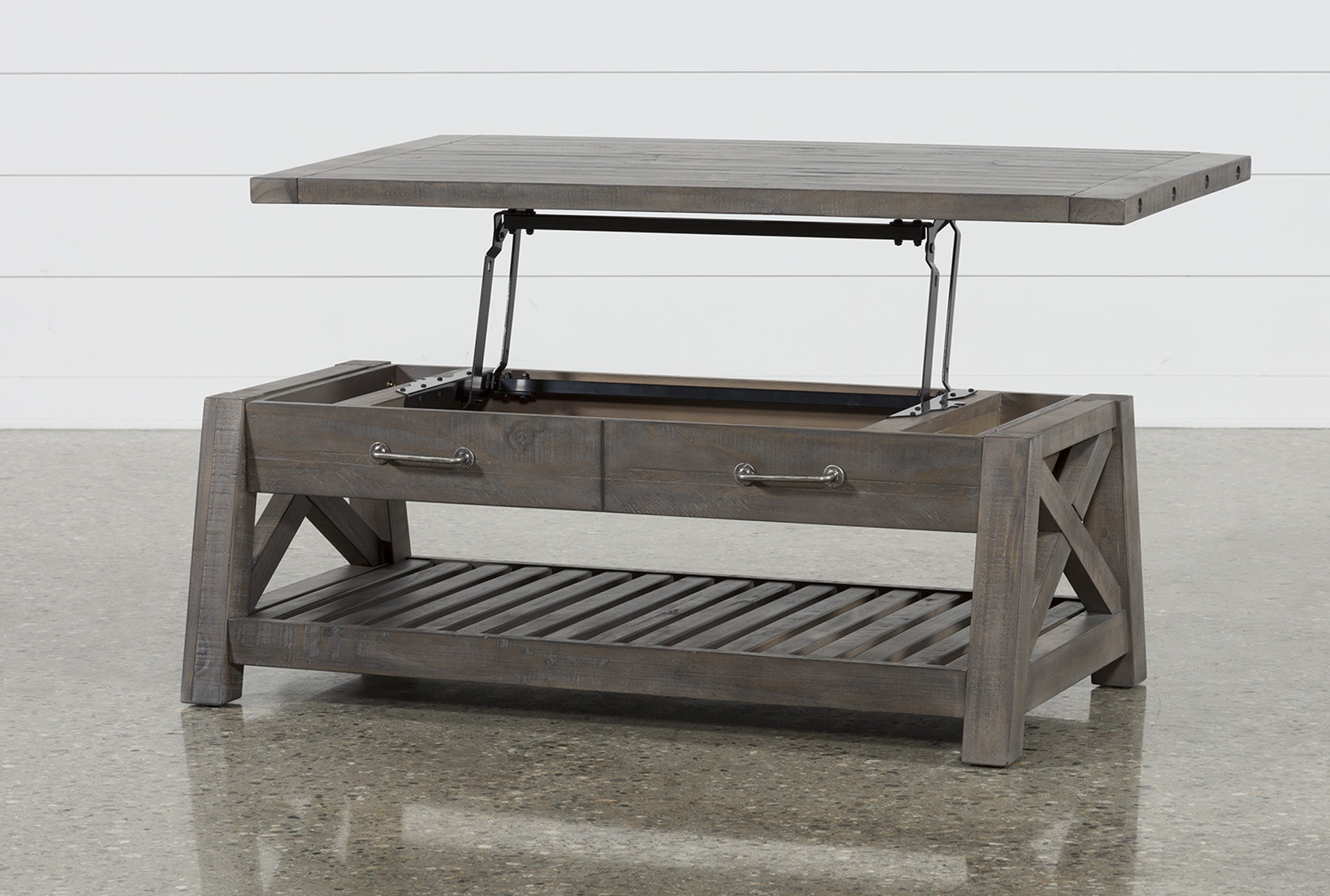 Trendy Jaxon Grey Lift Top Cocktail Table (View 5 of 20)