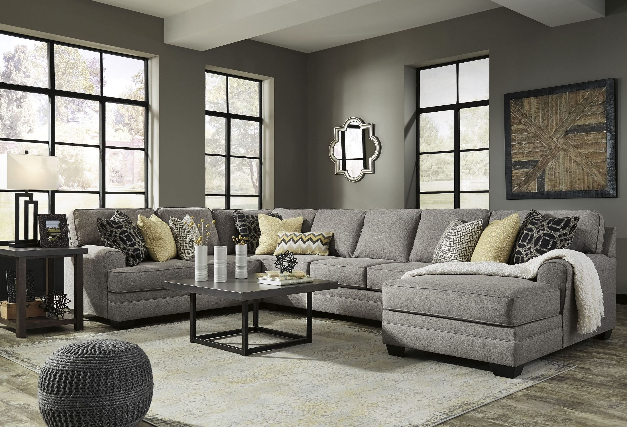 Trendy Large Chaise Sofas (View 9 of 20)