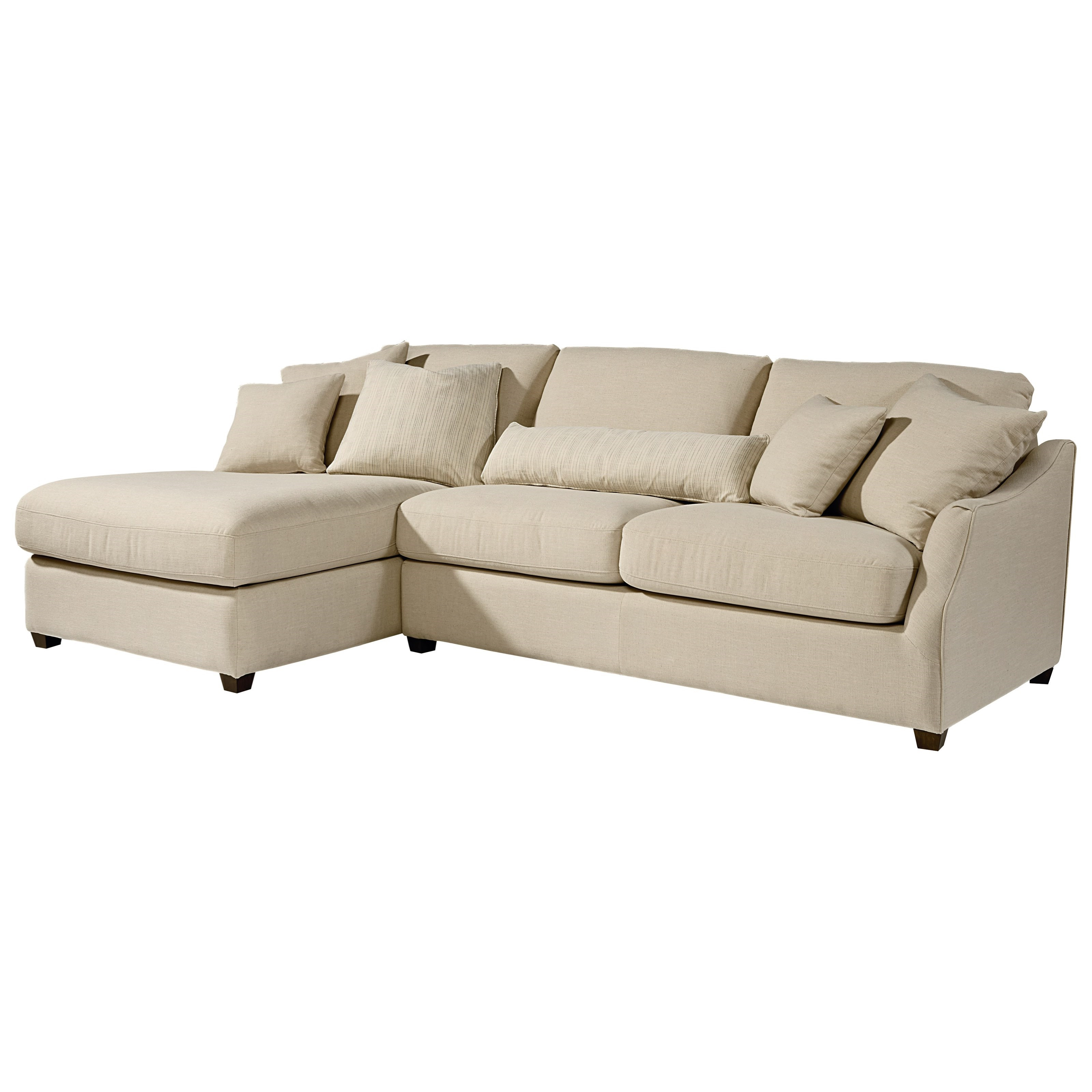 Trendy Magnolia Homejoanna Gaines Homestead Sofa Chaise With Raf Chaise Throughout Magnolia Home Homestead 4 Piece Sectionals By Joanna Gaines (View 5 of 20)