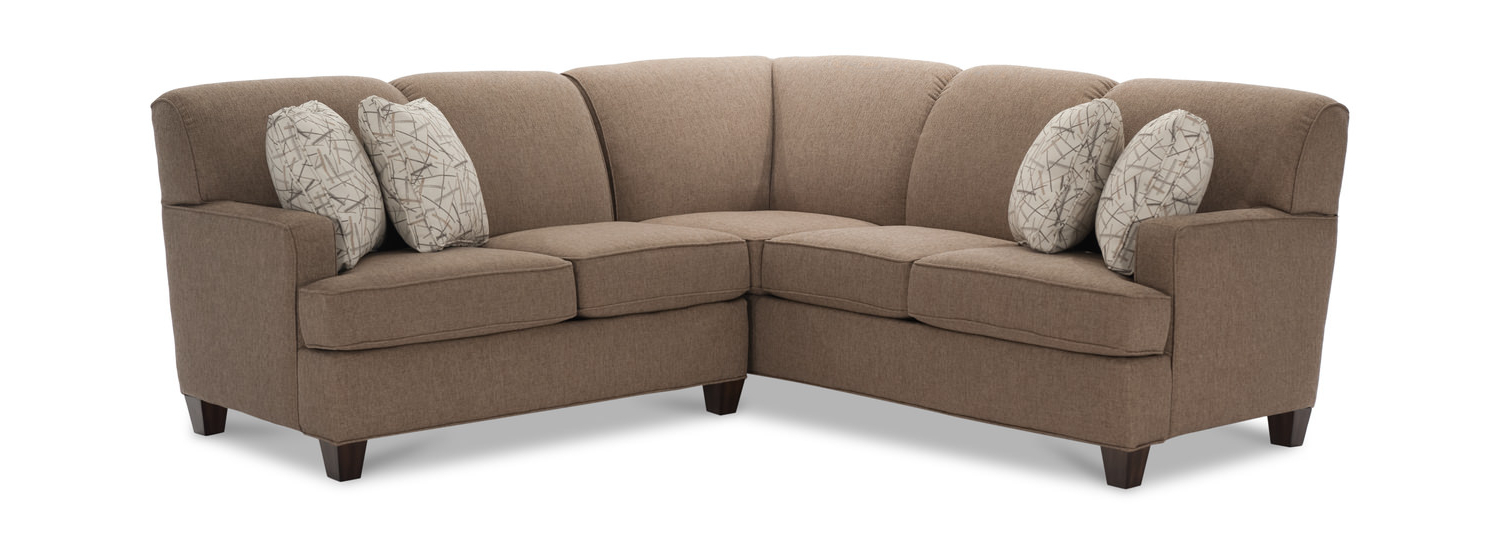Trendy Sectional Loveseat Sofa (Gallery 13 of 20)