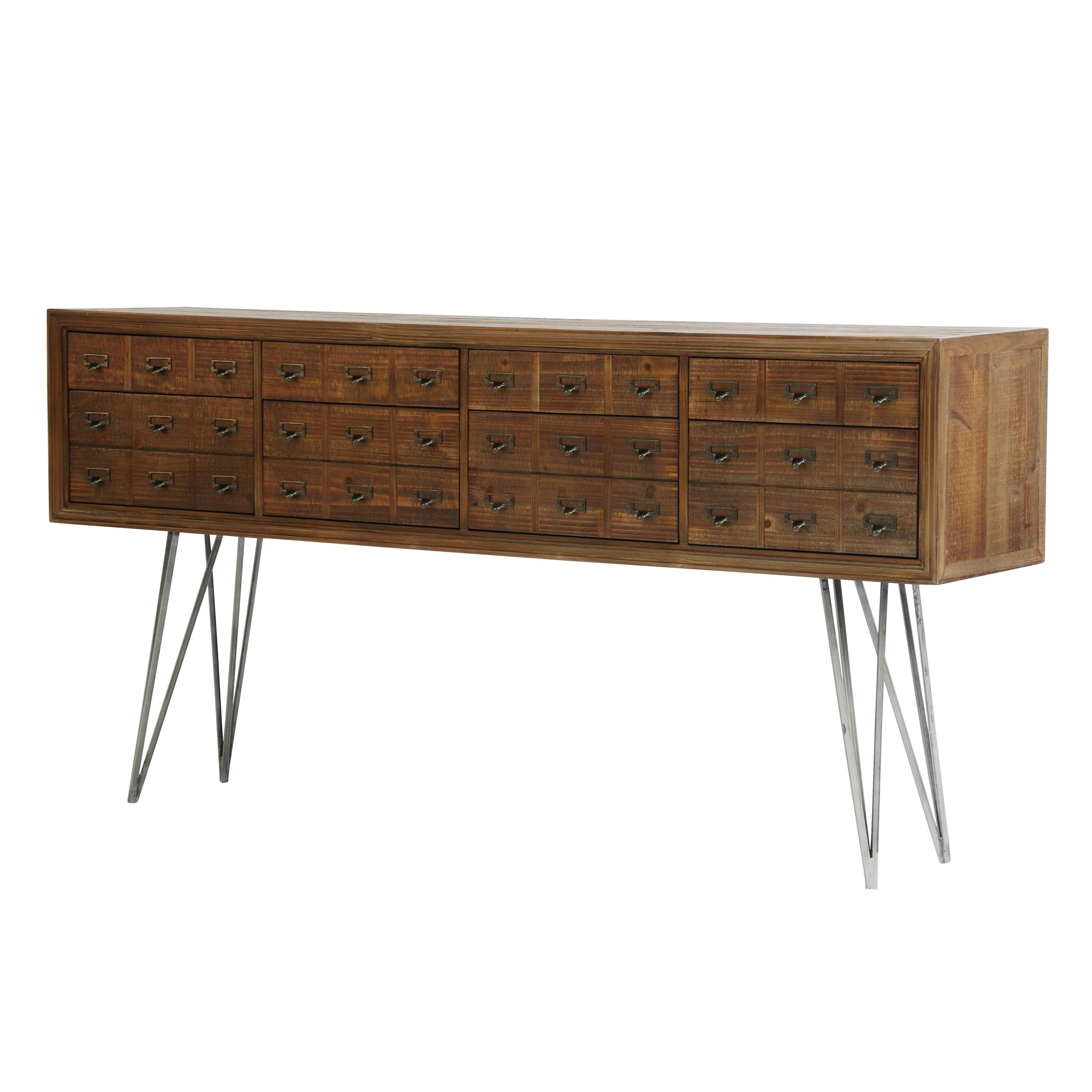 Trendy Shop Aurelle Home Craftsman Wood Sideboard – On Sale – Free Shipping For Amos Buffet Sideboards (View 8 of 20)
