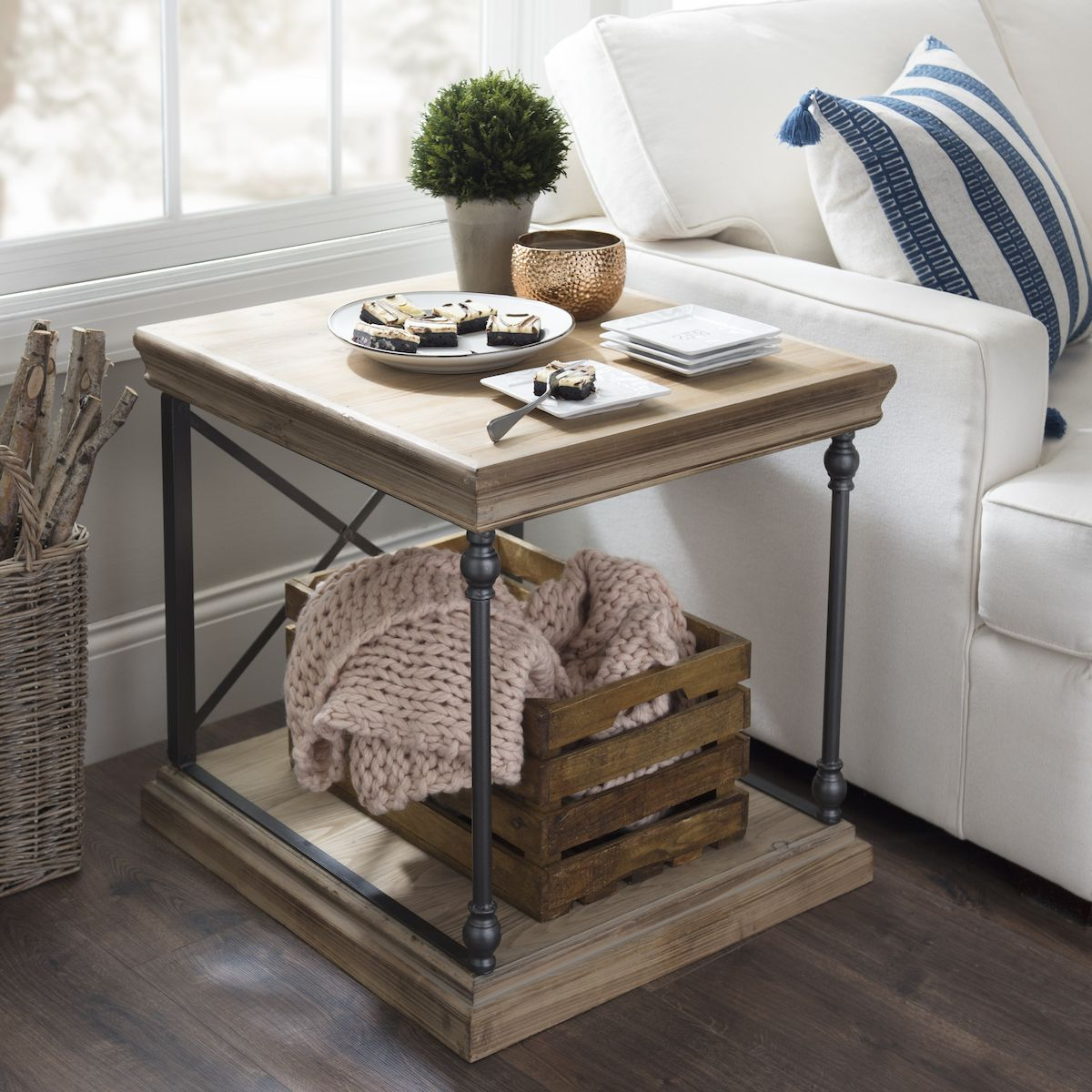 Trendy Sonoma Side Table (View 7 of 20)