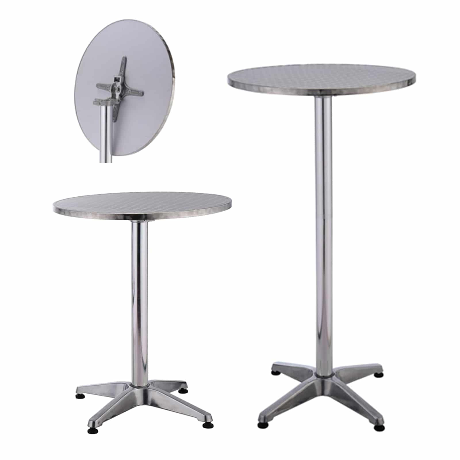 Trendy Verona Cocktail Tables Inside Products :: Tables :: Aluminium Cocktail Table 60 Cm Round (View 19 of 20)