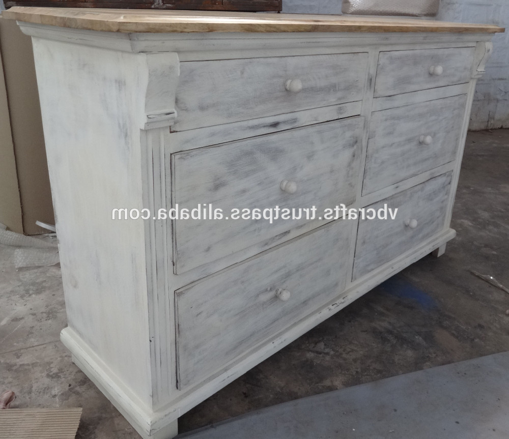 Trendy White Wash Antique Wooden Cabinet – Buy Wooden Vintage Antique Throughout Corrugated White Wash Sideboards (View 20 of 20)