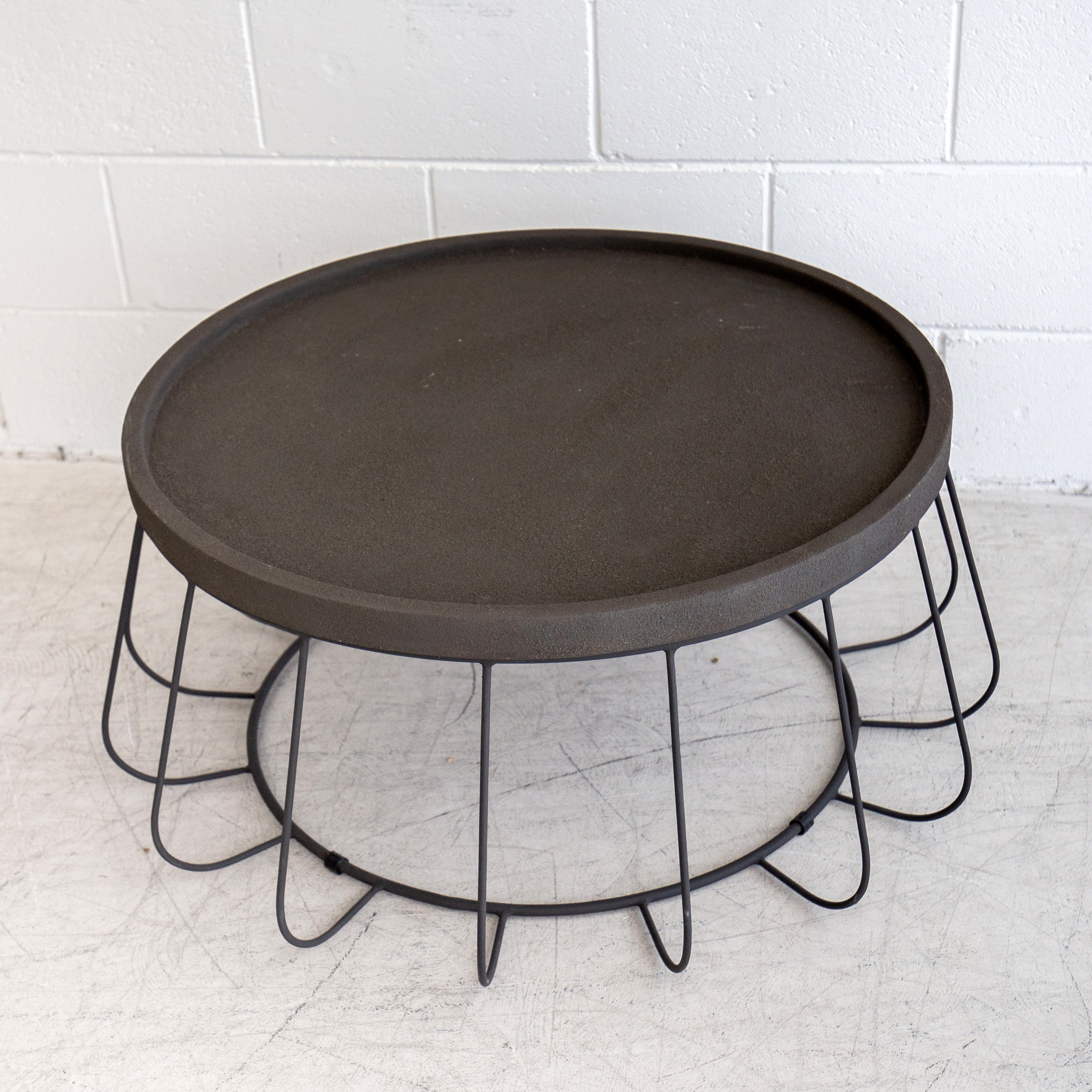 Trevi Wire Coffee Table – Black – The Beach Furniture Regarding Popular Black Wire Coffee Tables (Gallery 15 of 20)