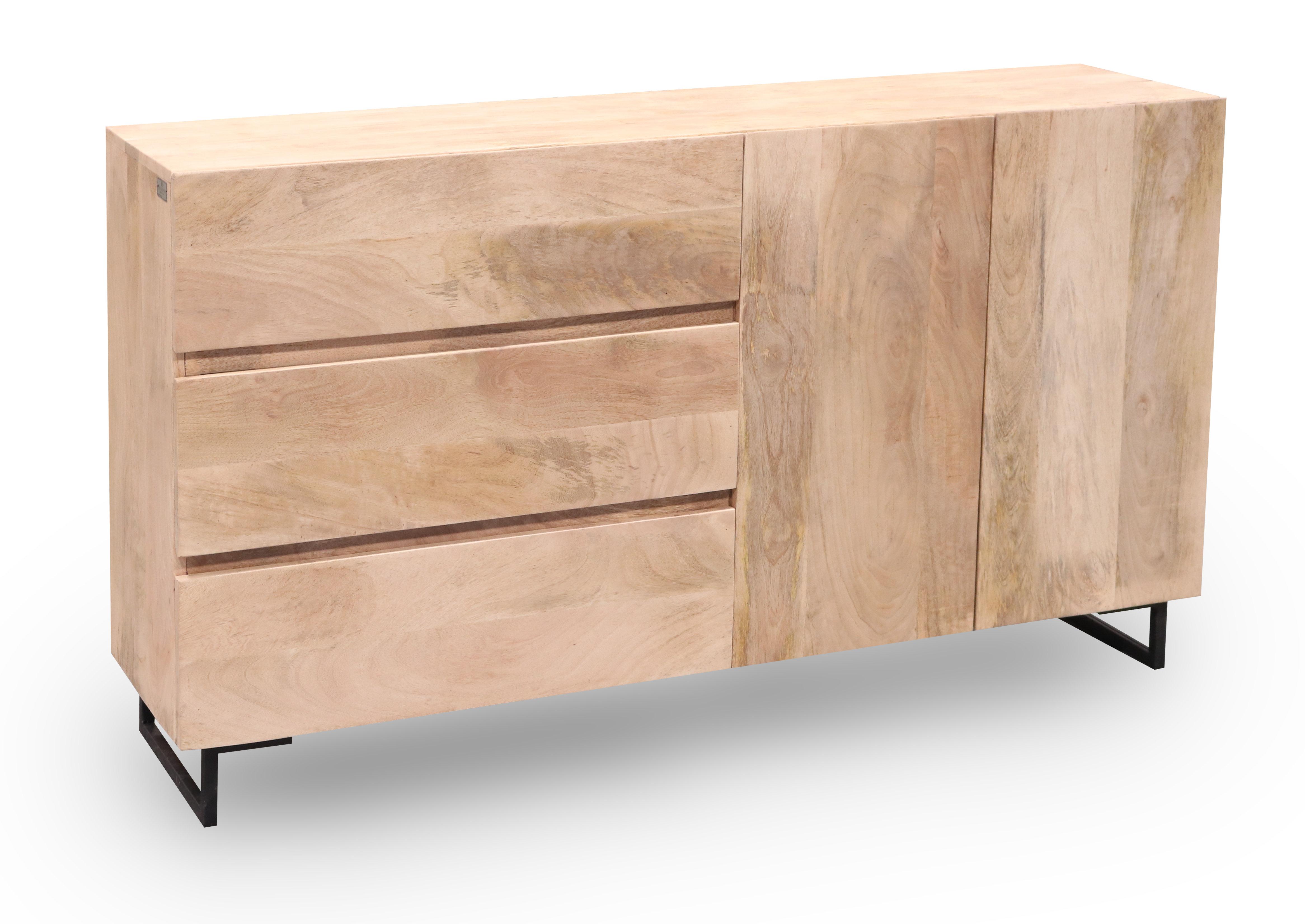 Unodesign Soho 2 Door 3 Drawer Sideboard (Gallery 15 of 20)