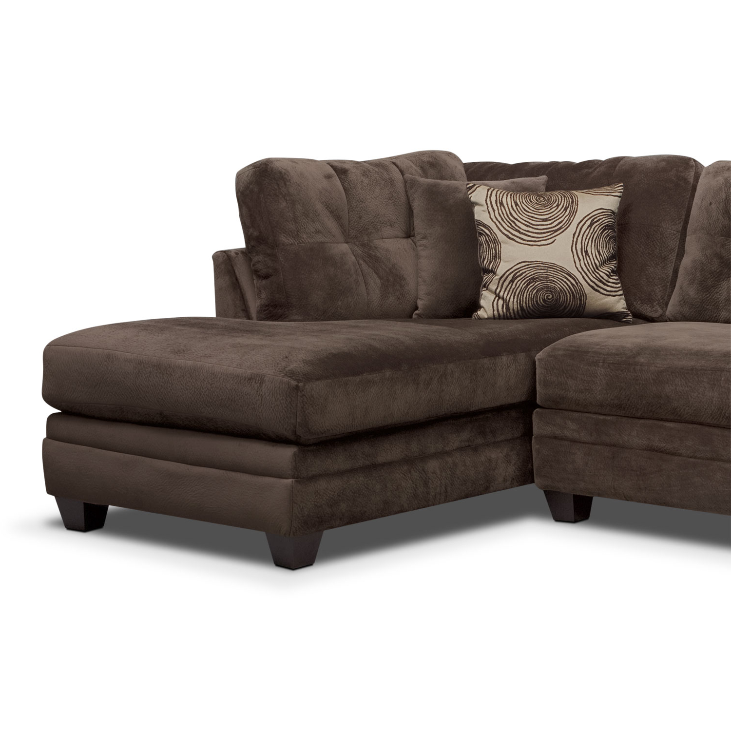 Value City Furniture And In Newest Cosmos Grey 2 Piece Sectionals With Laf Chaise (View 19 of 20)