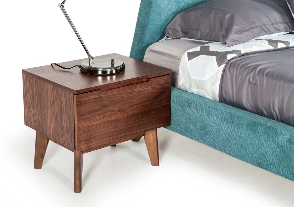 Venini Jaxon Walnut Nightstand – Model 1873639 – Venini Furniture With 2018 Jaxon Sideboards (View 18 of 20)