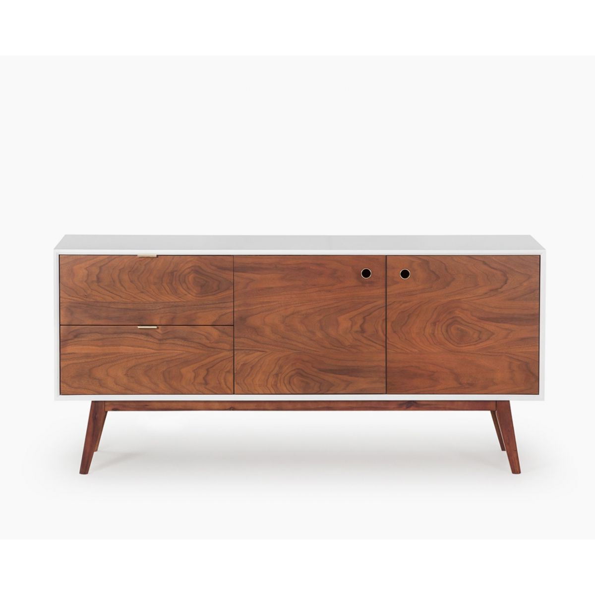 Vênoor For Walnut Finish Contempo Sideboards (Gallery 1 of 20)