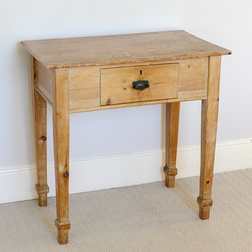 Victorian Antique Pine Side Table – The French Attic Pertaining To Favorite Antique Pine Coffee Tables (View 10 of 20)