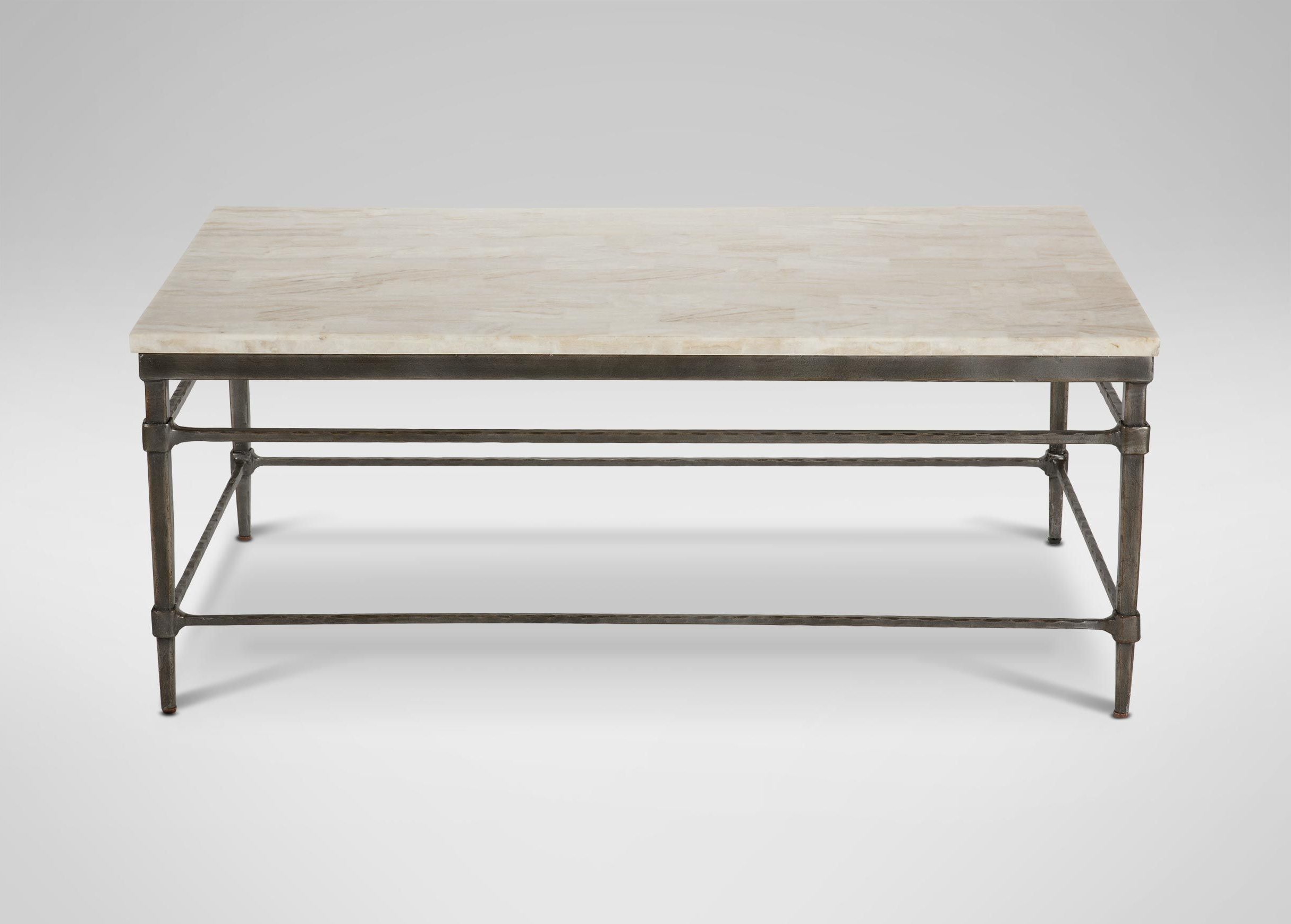 Vida Large Stone Top Coffee Table (Gallery 1 of 20)
