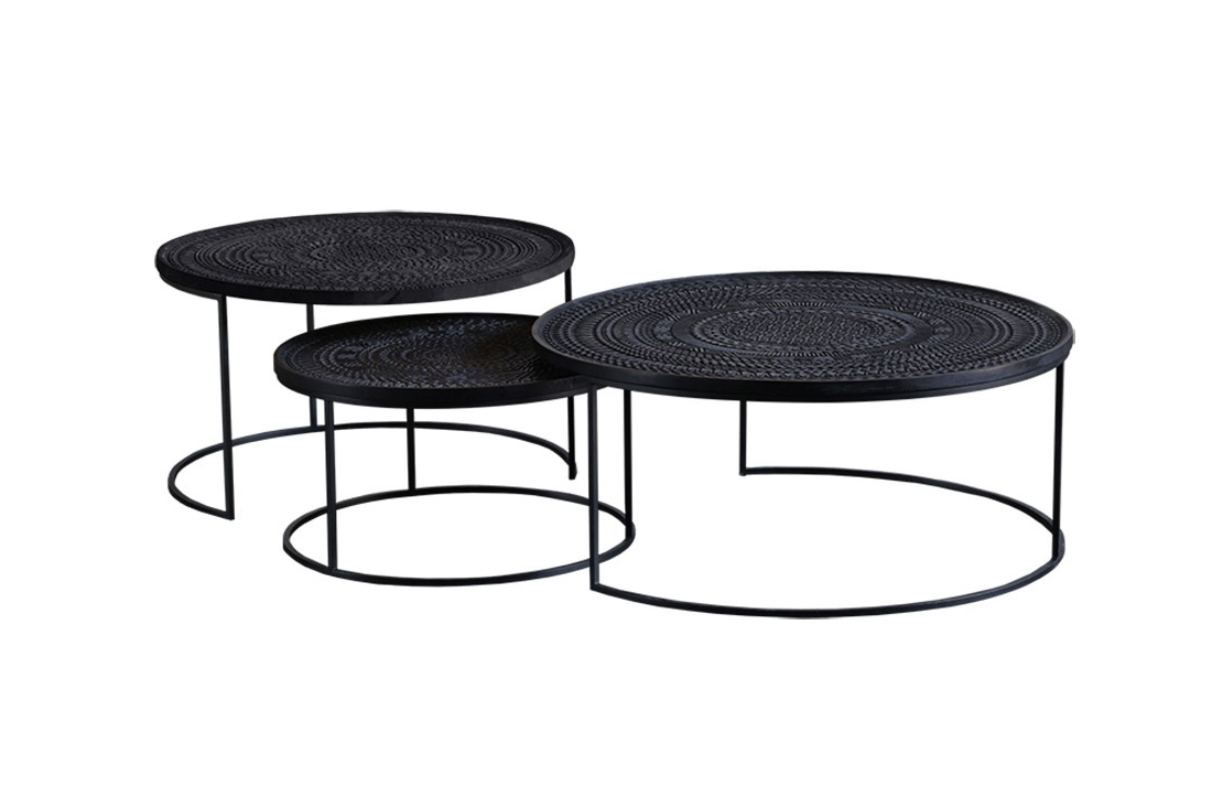 Viesso Pertaining To Popular Set Of Nesting Coffee Tables (View 18 of 20)