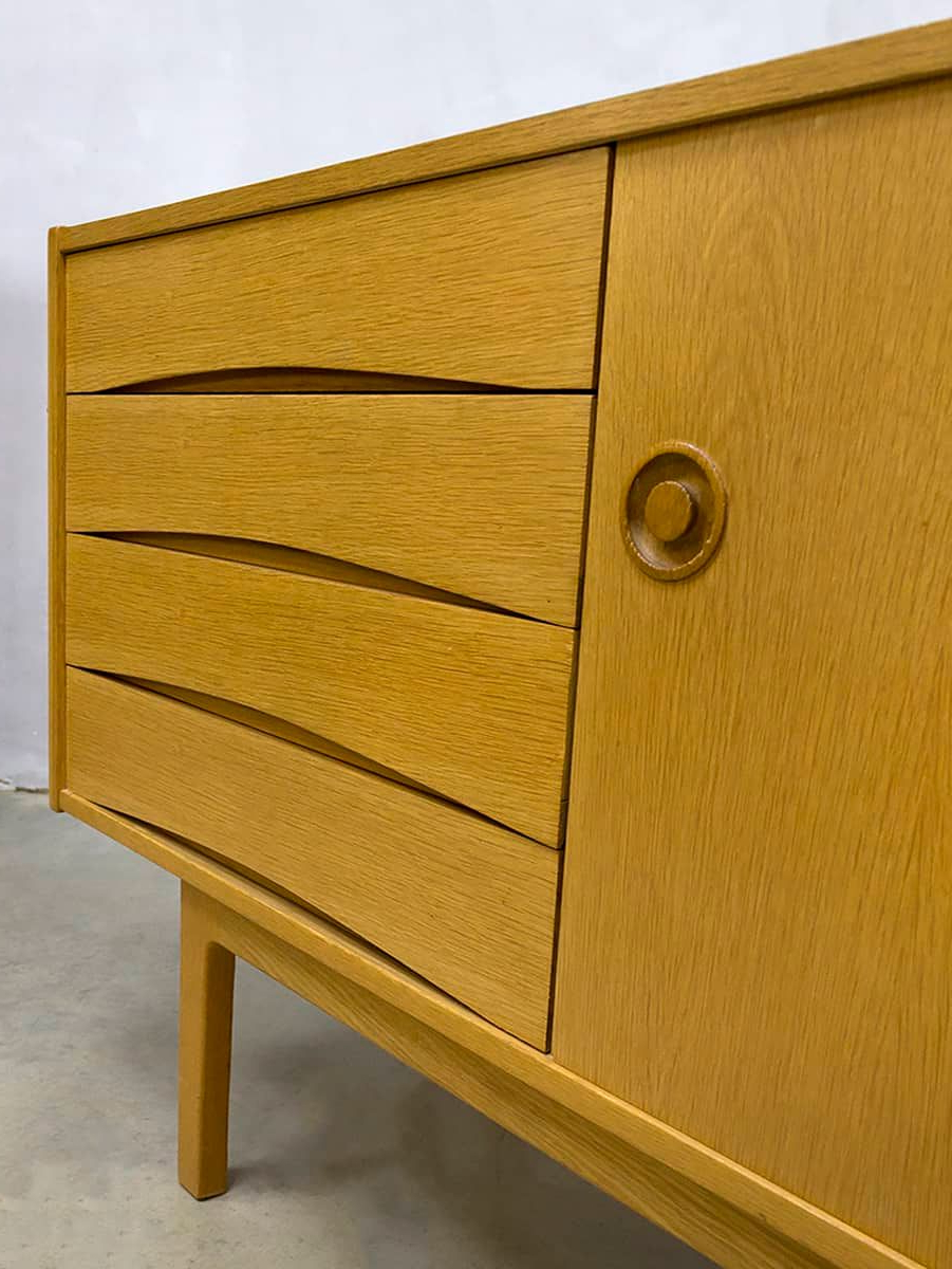 Vintage Danish Oak Sideboard For Sale At Pamono For Best And Newest Natural Oak Wood 78 Inch Sideboards (View 18 of 20)
