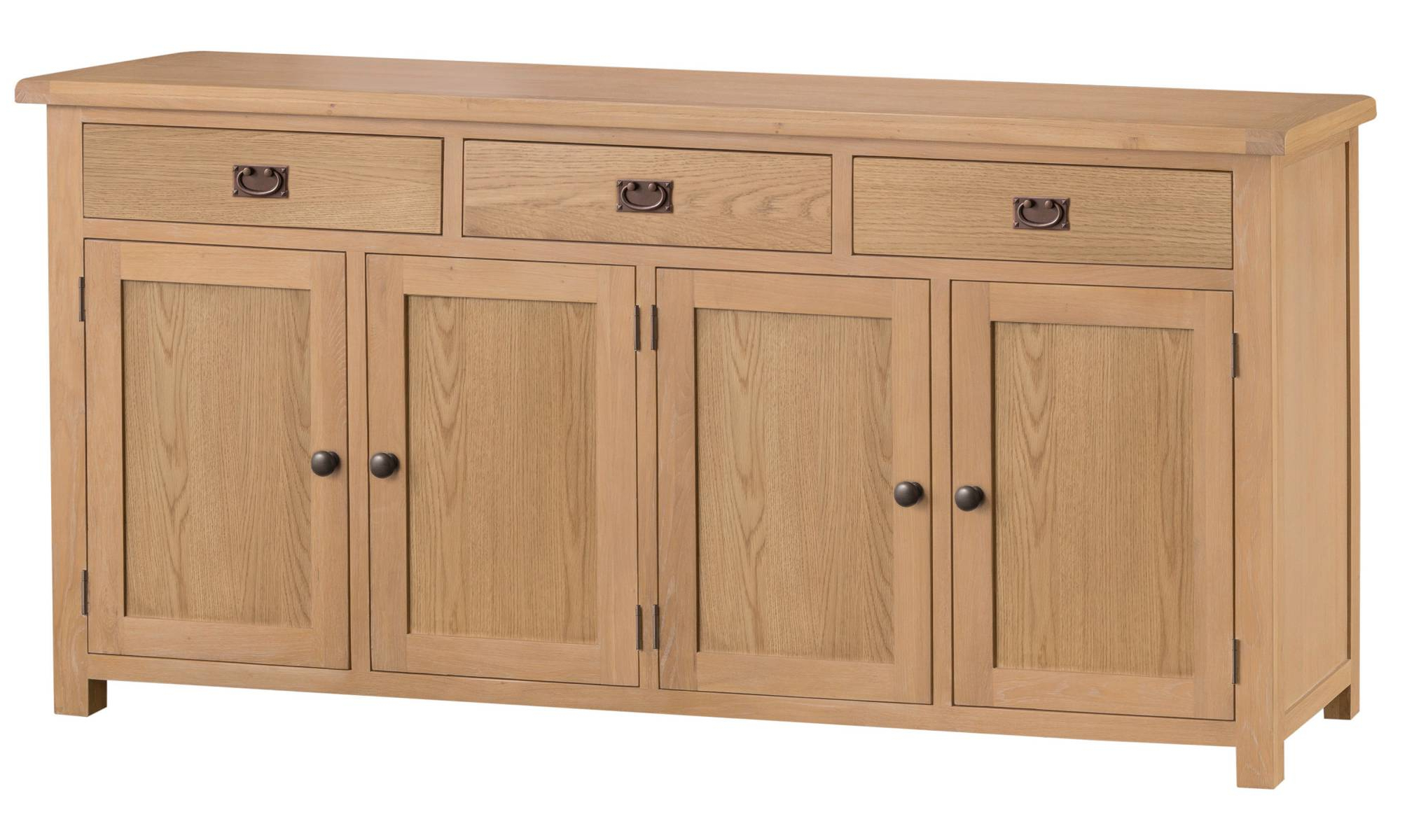 Vintage Finish 4 Door Sideboards Intended For Widely Used Edinburgh 4 Door Sideboard – Lpc Furniture (View 13 of 20)