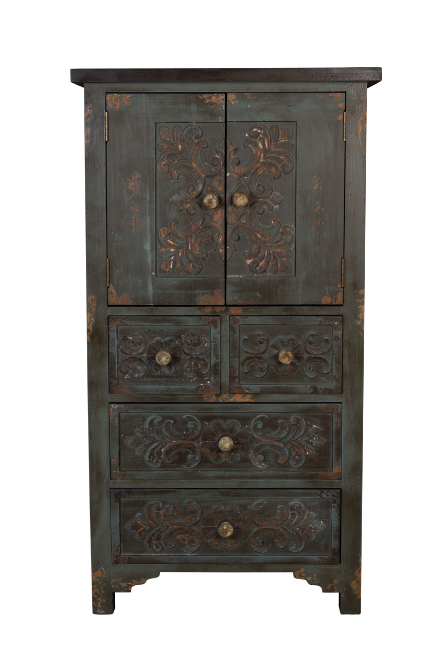 Vintage Finish 4 Door Sideboards Regarding Most Recent Fuz Cabinet & Sideboard – Dutchbone (Gallery 9 of 20)