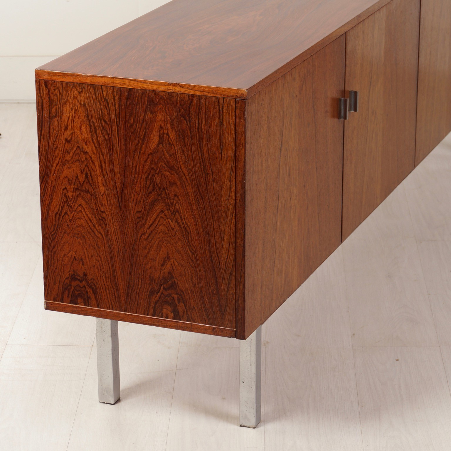 Vintage Sideboard Made Of Rosewood, 1960s – Ztijl Design With 2018 Vintage Brown Textured Sideboards (View 3 of 20)