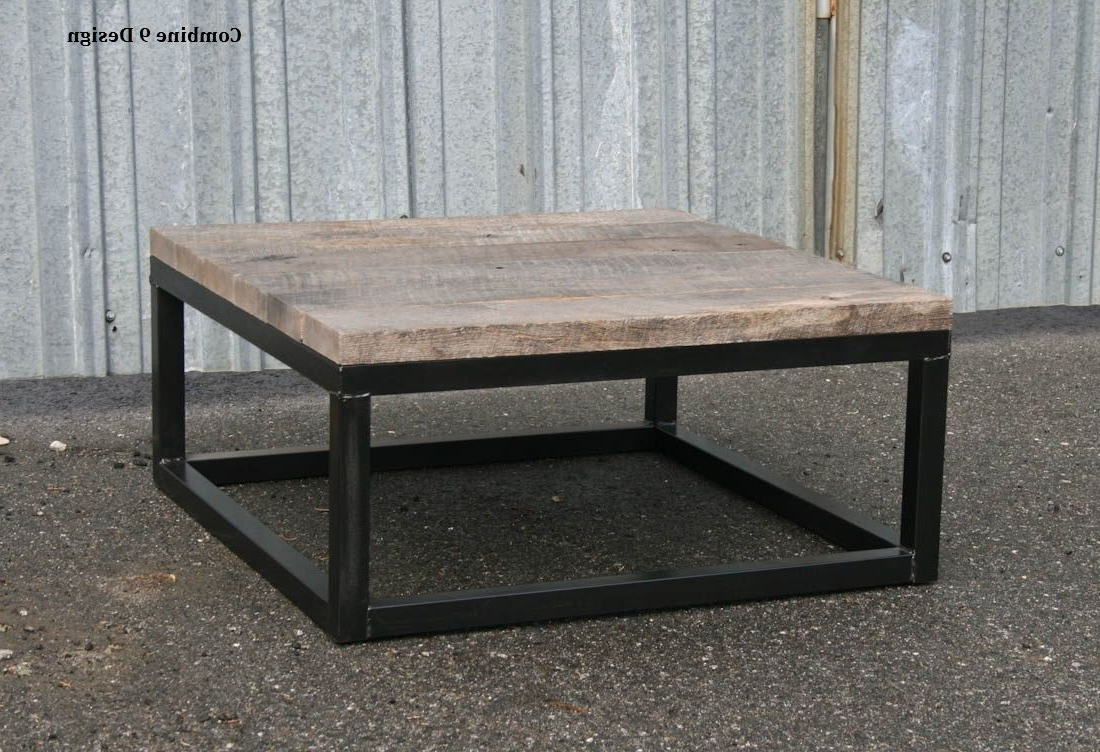 Vintage Wood Coffee Tables Throughout Best And Newest Buy A Hand Crafted Reclaimed Wood Coffee Table – Rustic Urban End (View 17 of 20)