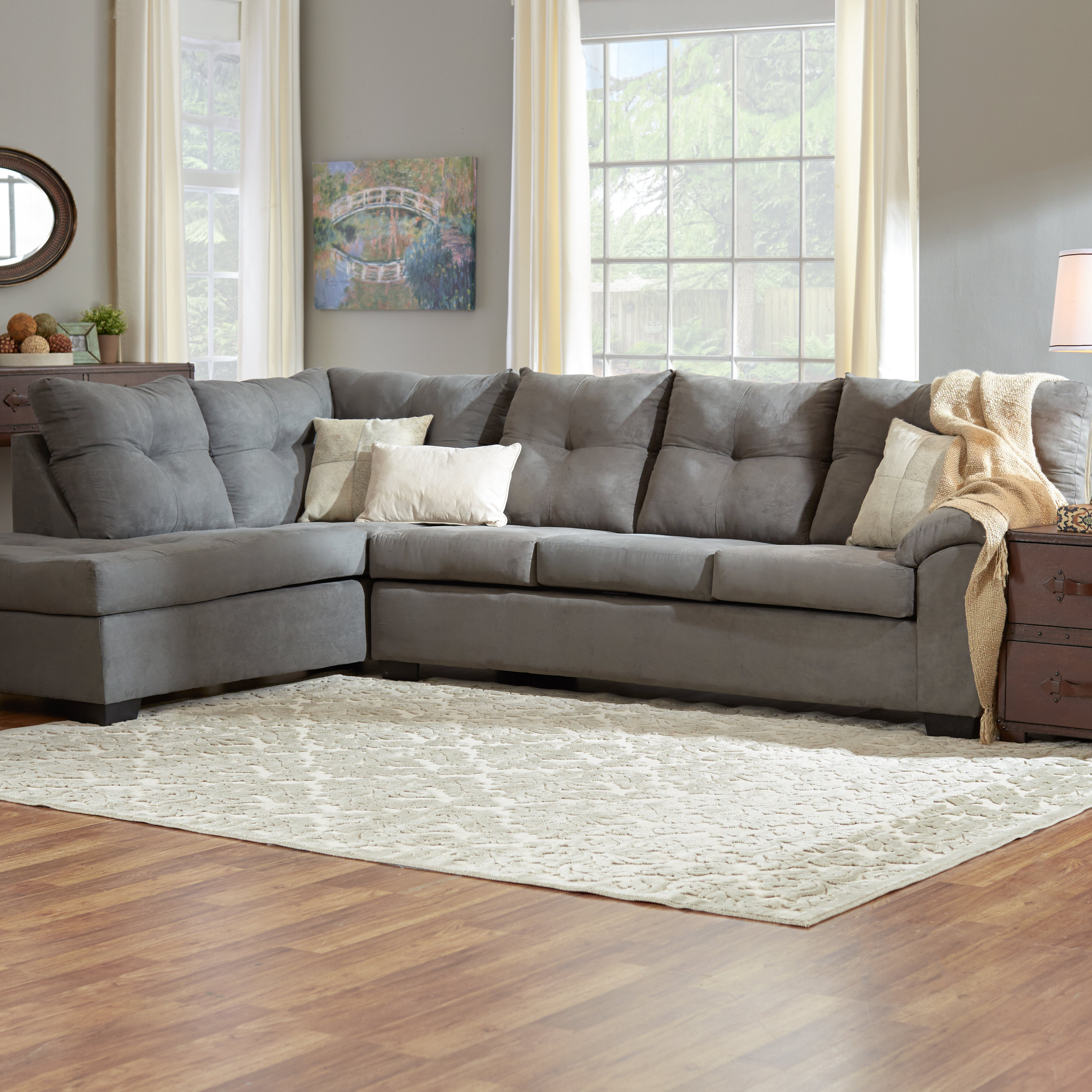 Wayfair For Most Up To Date Kristen Silver Grey 6 Piece Power Reclining Sectionals (View 17 of 20)