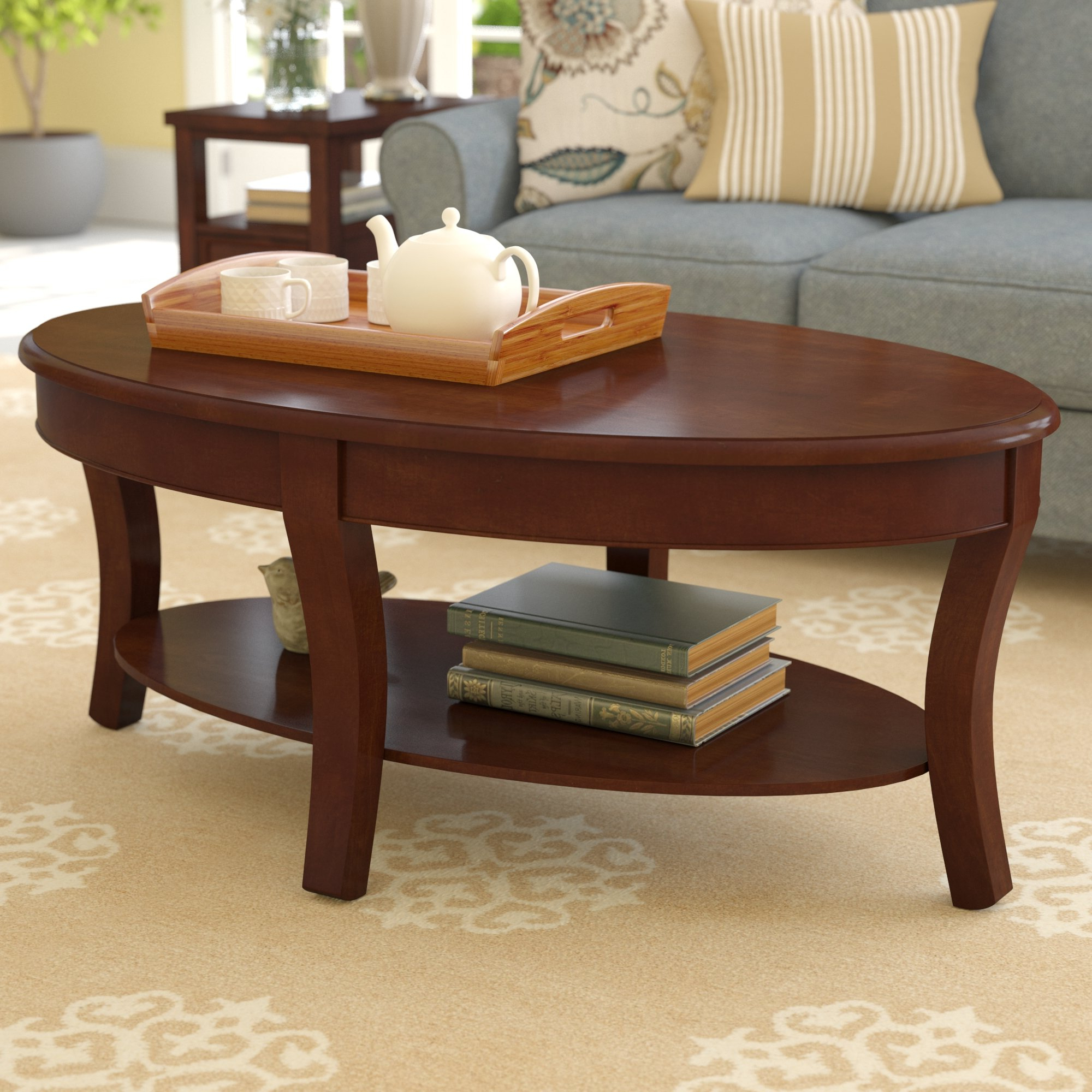 Wayfair For Stack Hi Gloss Wood Coffee Tables (View 6 of 20)