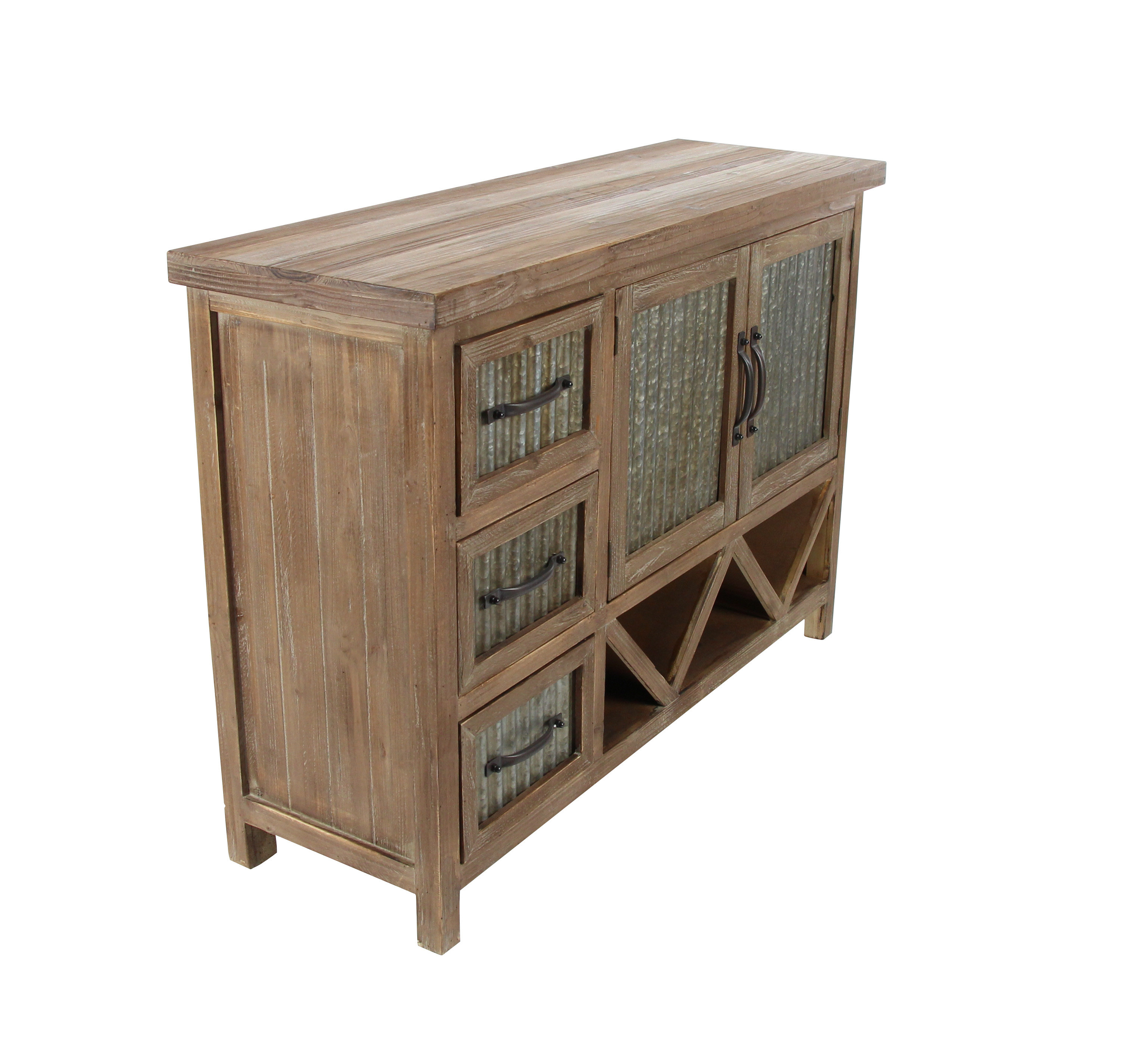 Wayfair Intended For Best And Newest Corrugated Natural 4 Drawer Sideboards (View 2 of 20)
