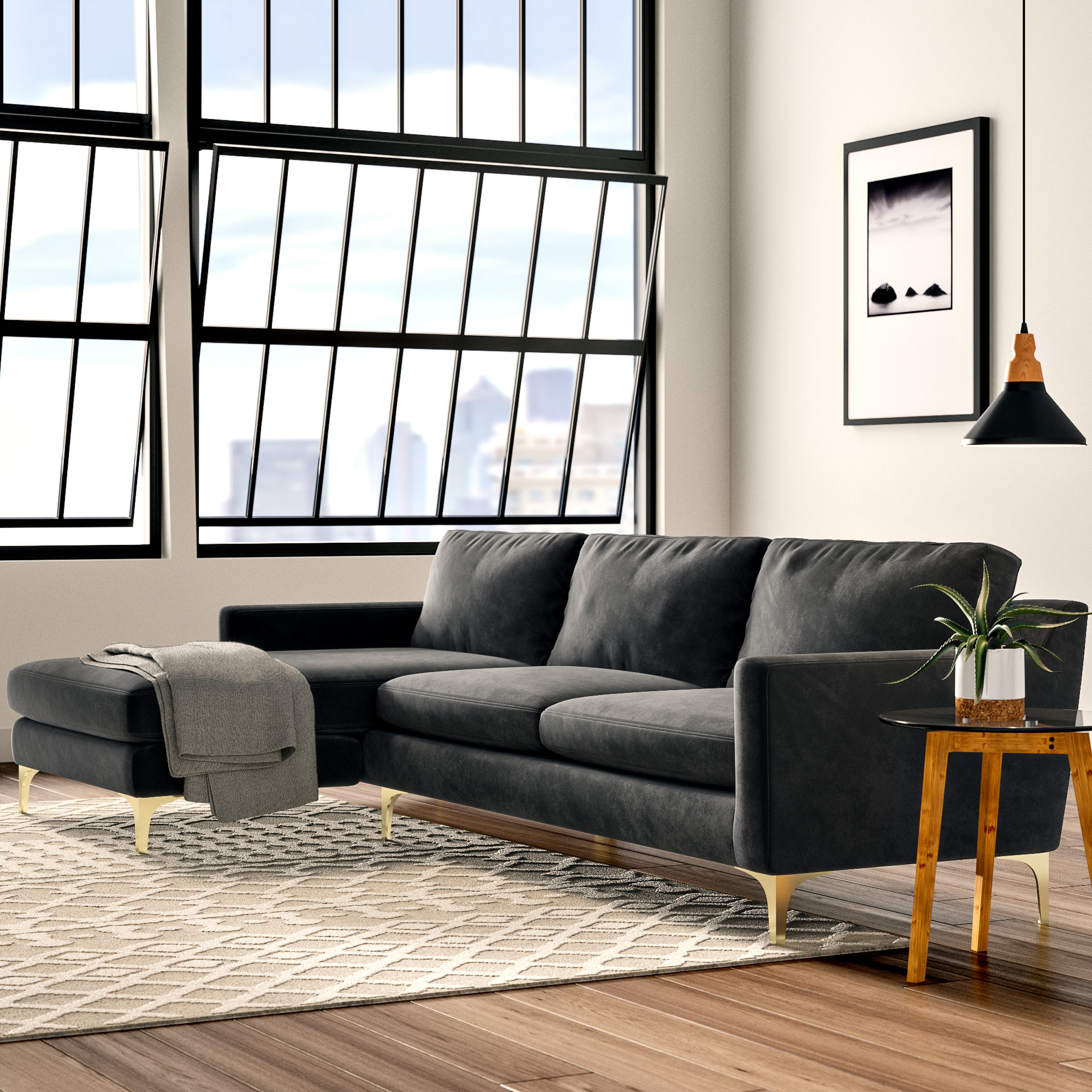 Wayfair Throughout Well Known Mesa Foam 2 Piece Sectionals (View 18 of 20)