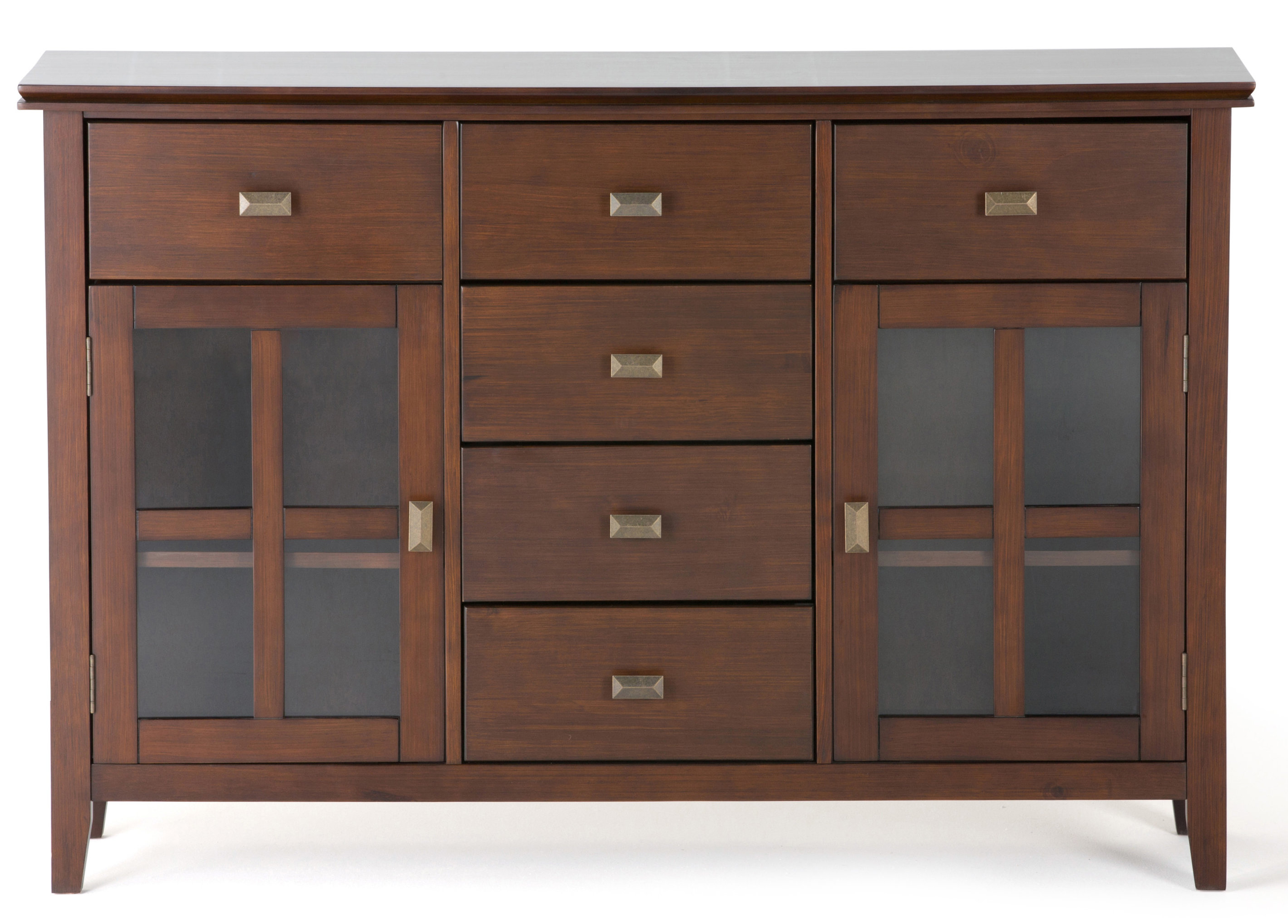 Wayfair With Dark Smoked Oak With White Marble Top Sideboards (Gallery 2 of 20)