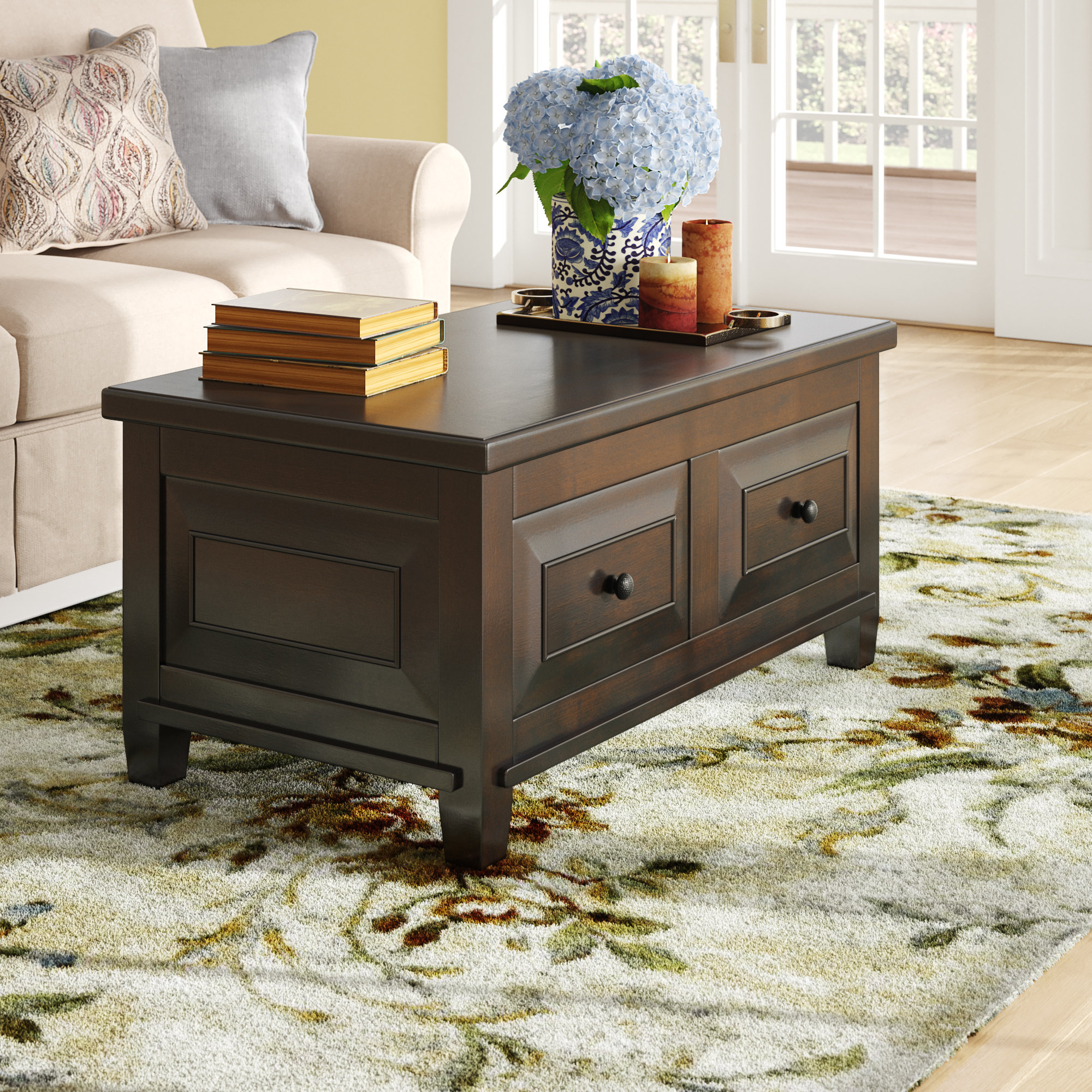 Wayfair Within Large Scale Chinese Farmhouse Coffee Tables (View 18 of 20)