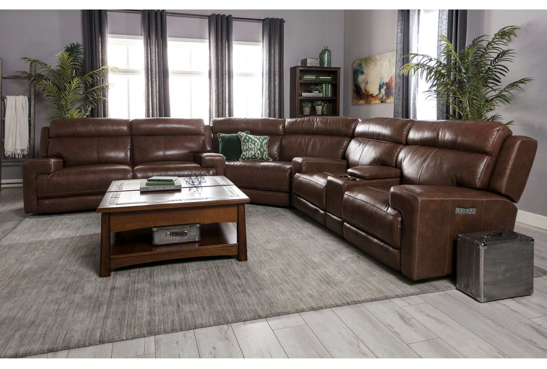 Waylon 3 Piece Power Reclining Sectional (View 3 of 20)