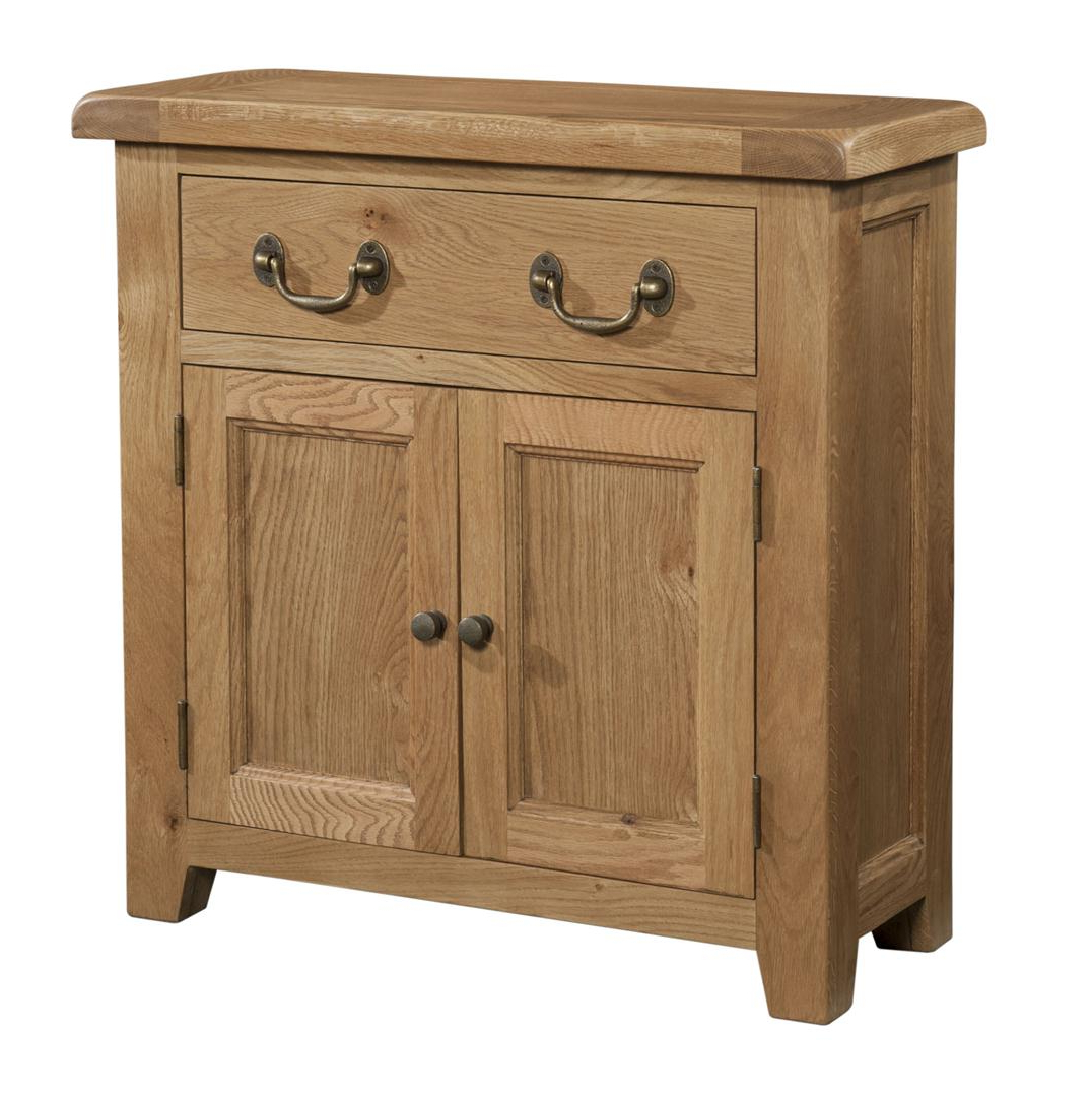 Well Known 2 Drawer Sideboards Inside Sideboards : Somerset 1 Drawer 2 Door Chunky Oak Sideboardsomerset 1 (Gallery 11 of 20)