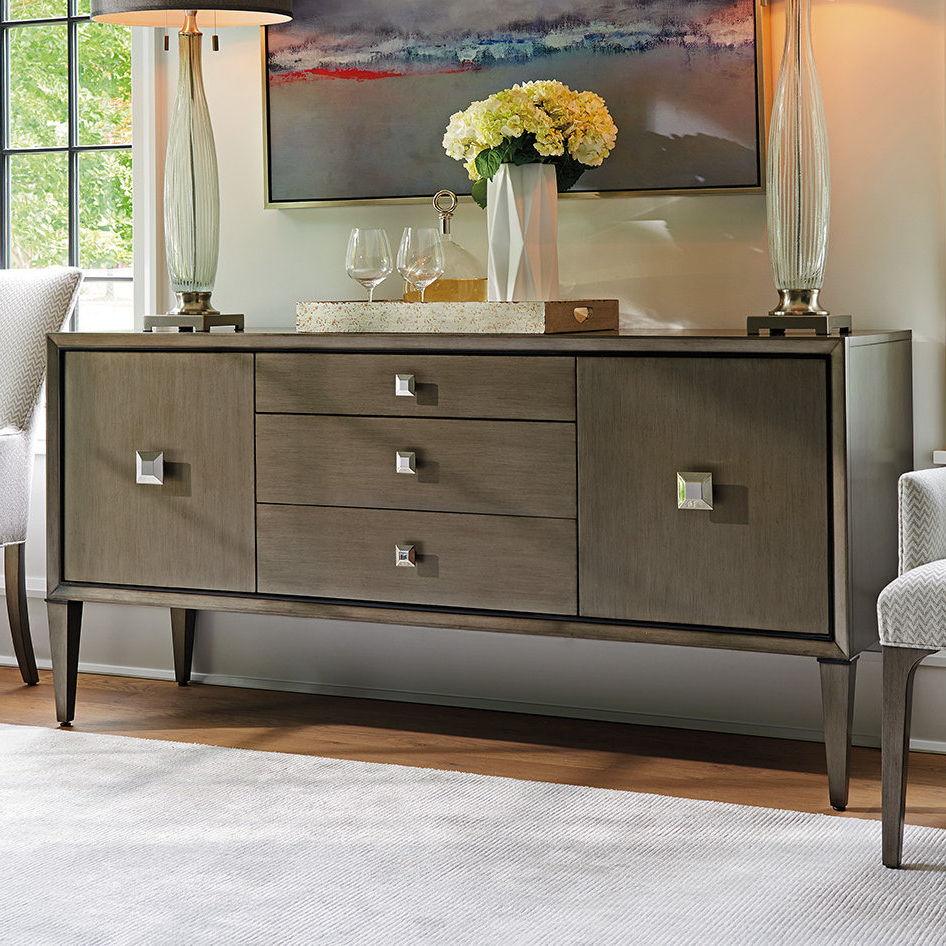 Well Known 3 Drawer/2 Door Sideboards Throughout Lexington Ariana Provence 3 Drawer 2 Door Sideboard (View 6 of 20)