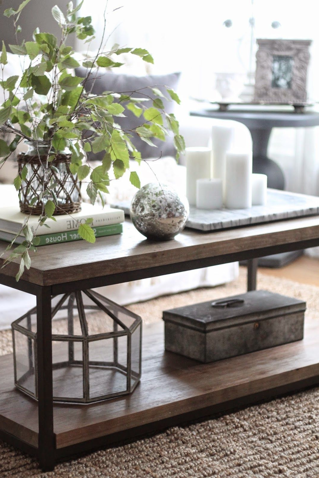 Well Known 3 Ways To Style A Coffee Table (Gallery 6 of 20)