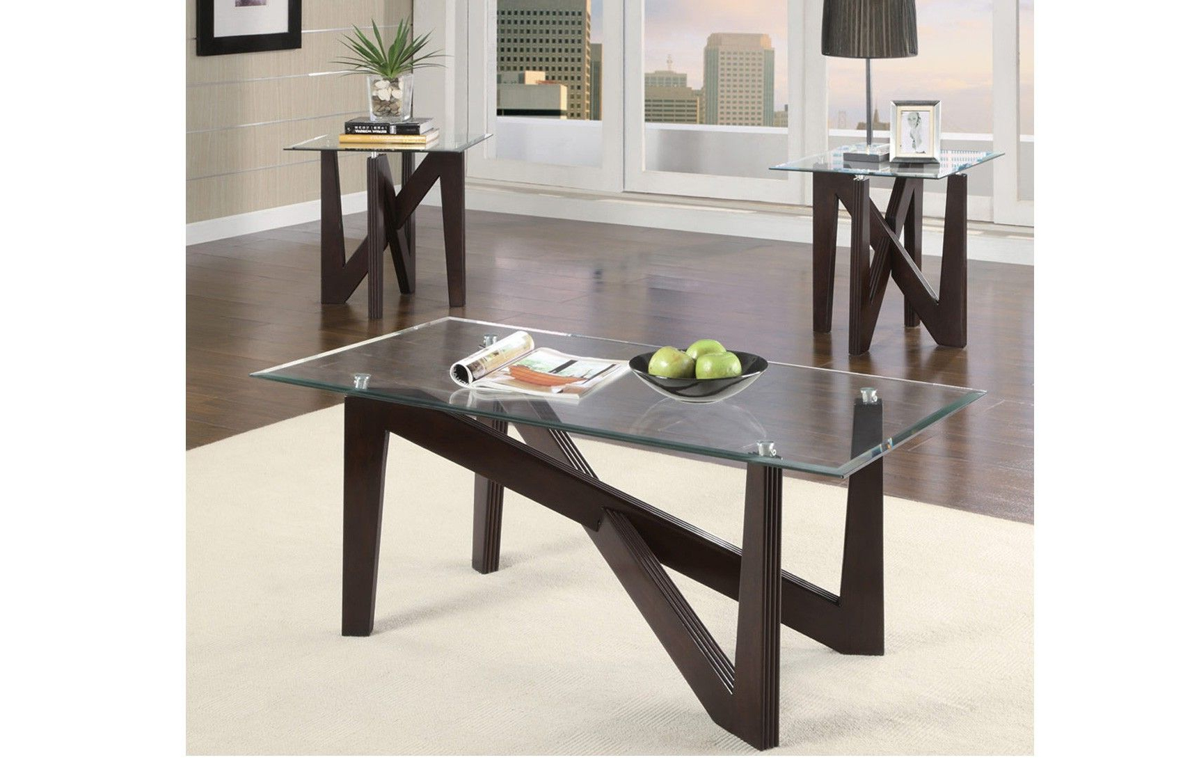 Well Known Axis Cocktail Tables With Axis 3 Pc Cocktail Table Set (View 4 of 20)
