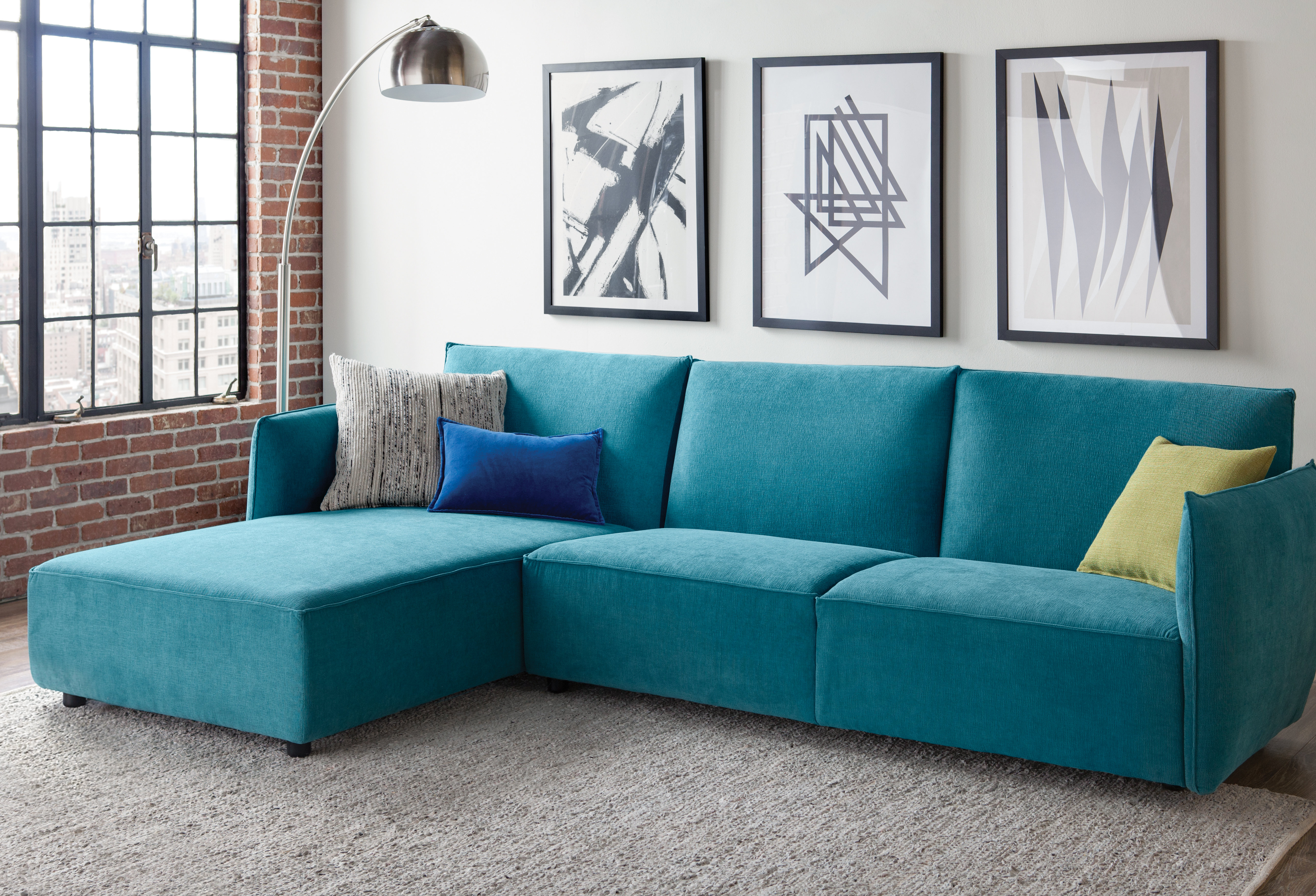 Well Known Benton 4 Piece Sectionals With Regard To Latitude Run Sharron Sectional & Reviews (View 20 of 20)