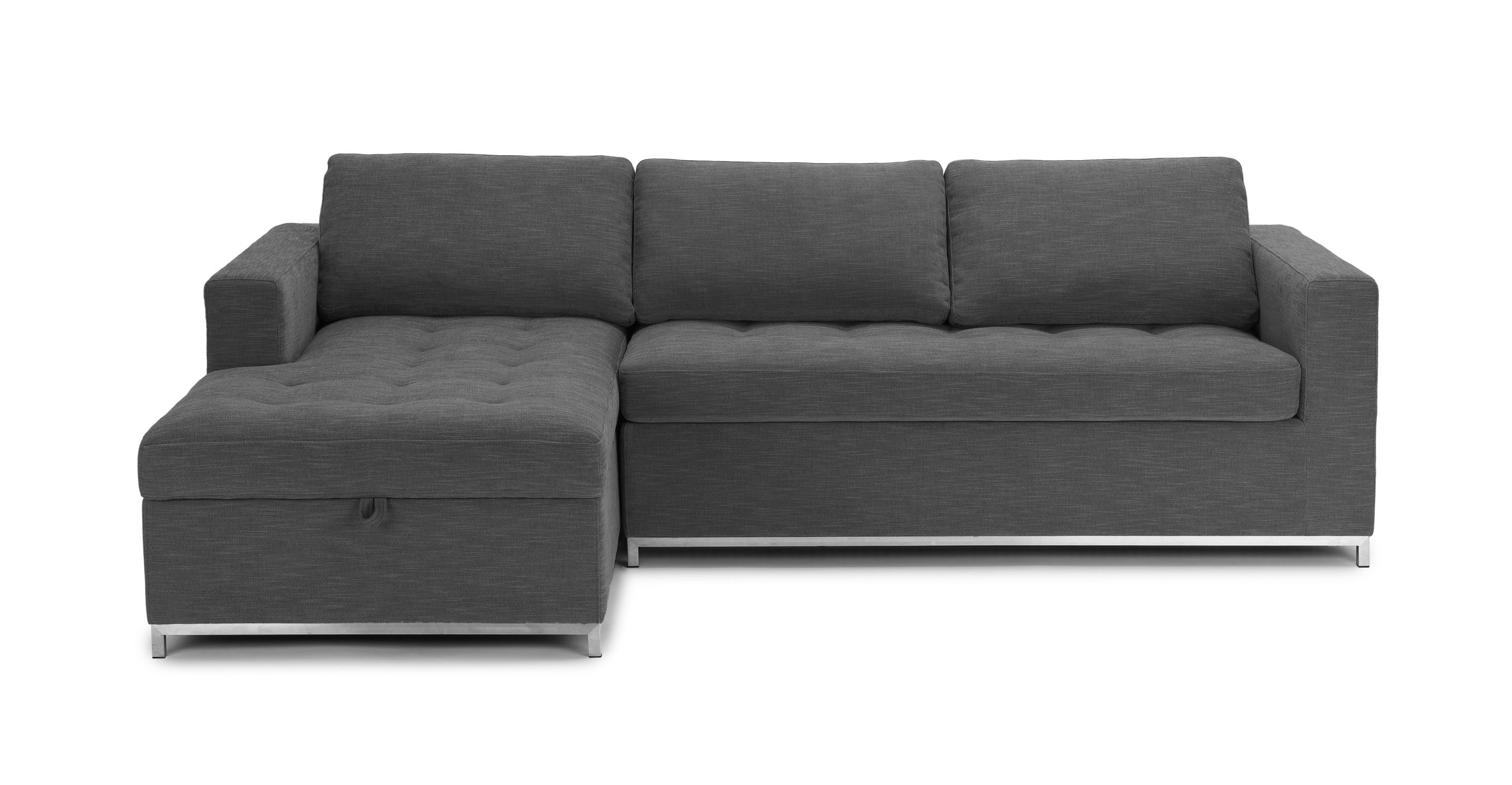 Well Known Best Of Sleeper Chaise Sofa – Buildsimplehome Pertaining To Taren Reversible Sofa/chaise Sleeper Sectionals With Storage Ottoman (View 5 of 20)