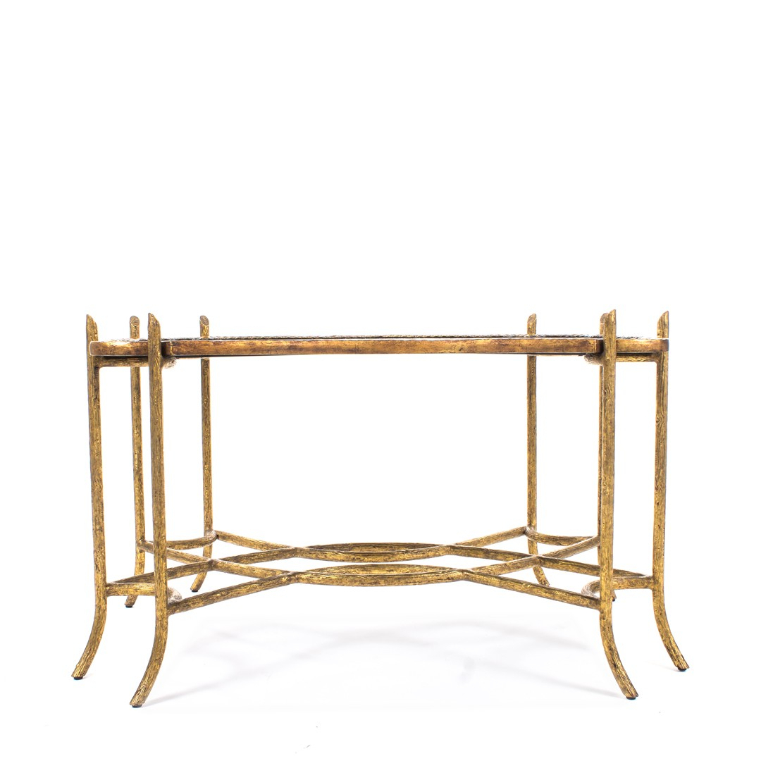 Well Known Dennis & Leen Chinoiserie Coffee Table W/antiqued Gold Faux Bois In Faux Bois Coffee Tables (View 4 of 20)