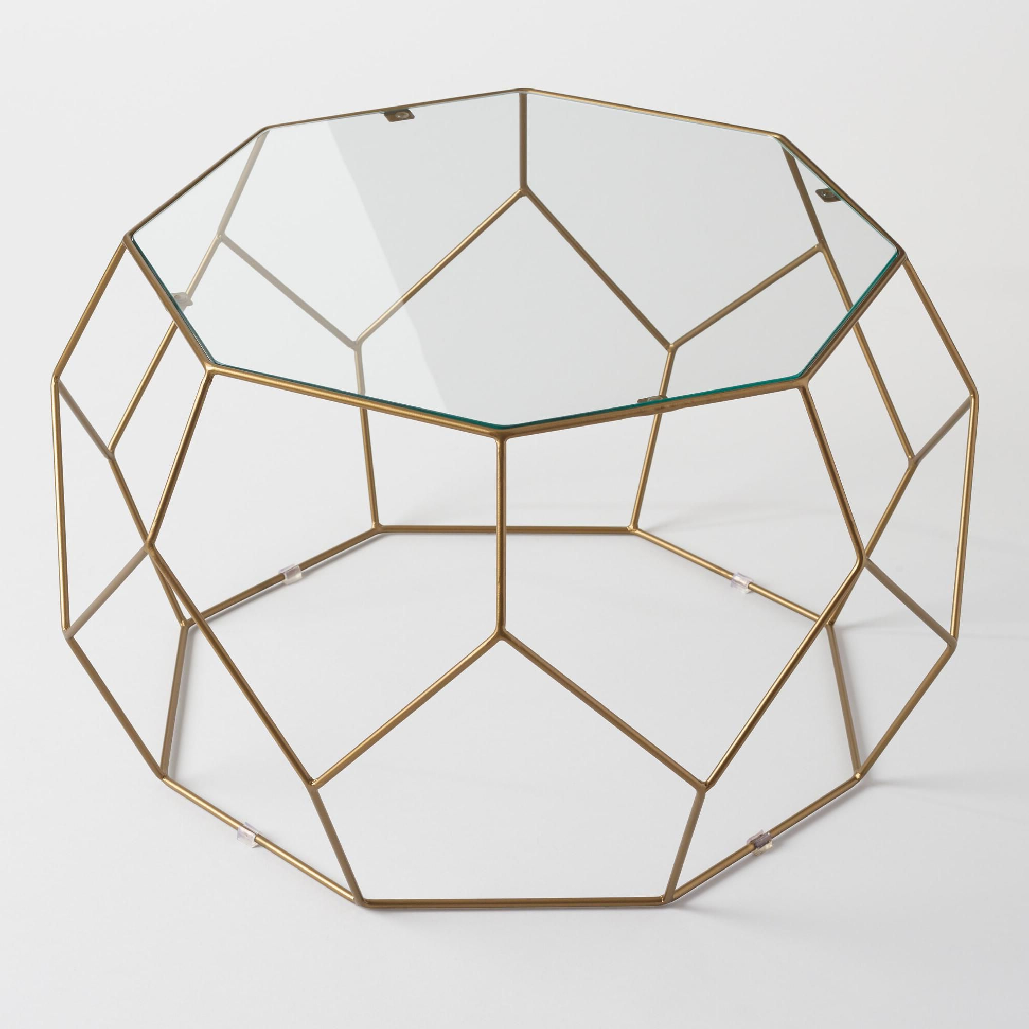 Well Known Geo Faceted Coffee Tables Regarding Bring A Modern Edge To Your Living Area With Our Faceted Coffee (View 2 of 20)