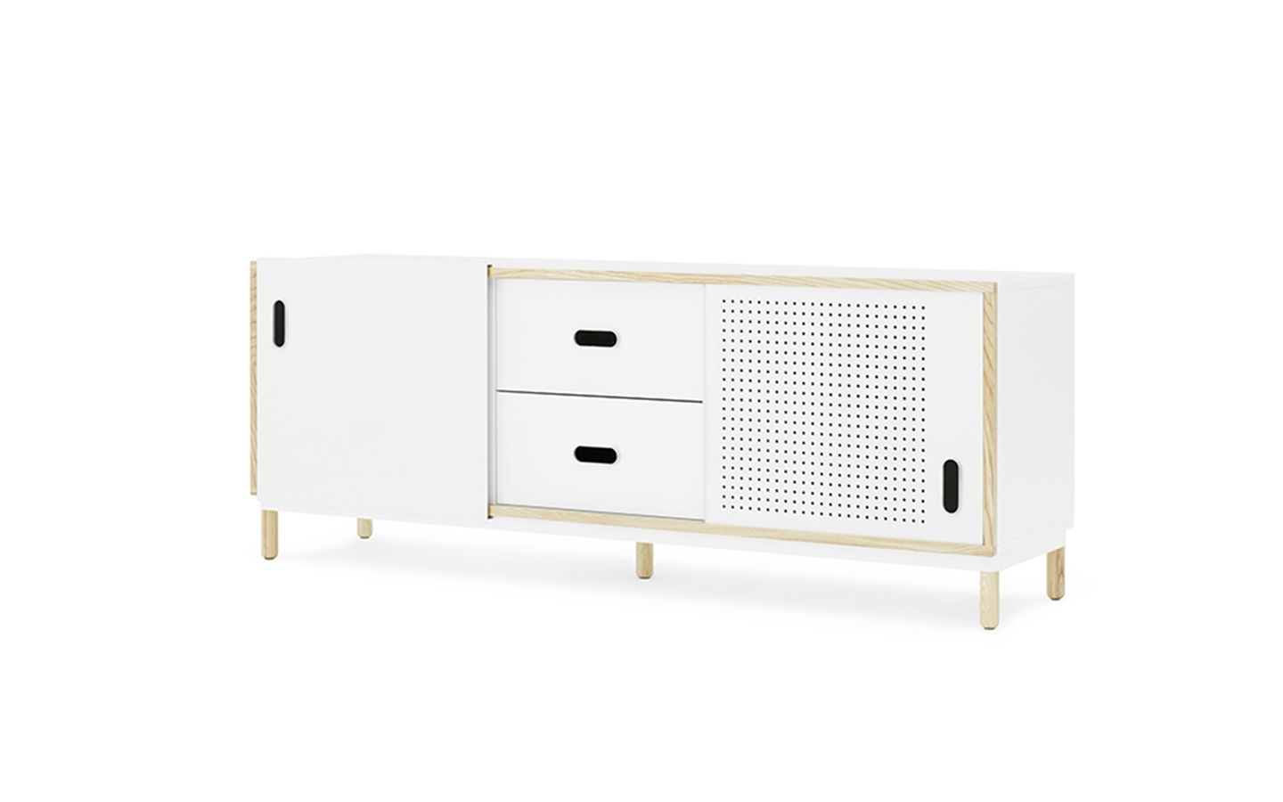Well Known Girard 4 Door Sideboards Within Norman Copenhagen Kabino Sideboard With Drawers (View 6 of 20)
