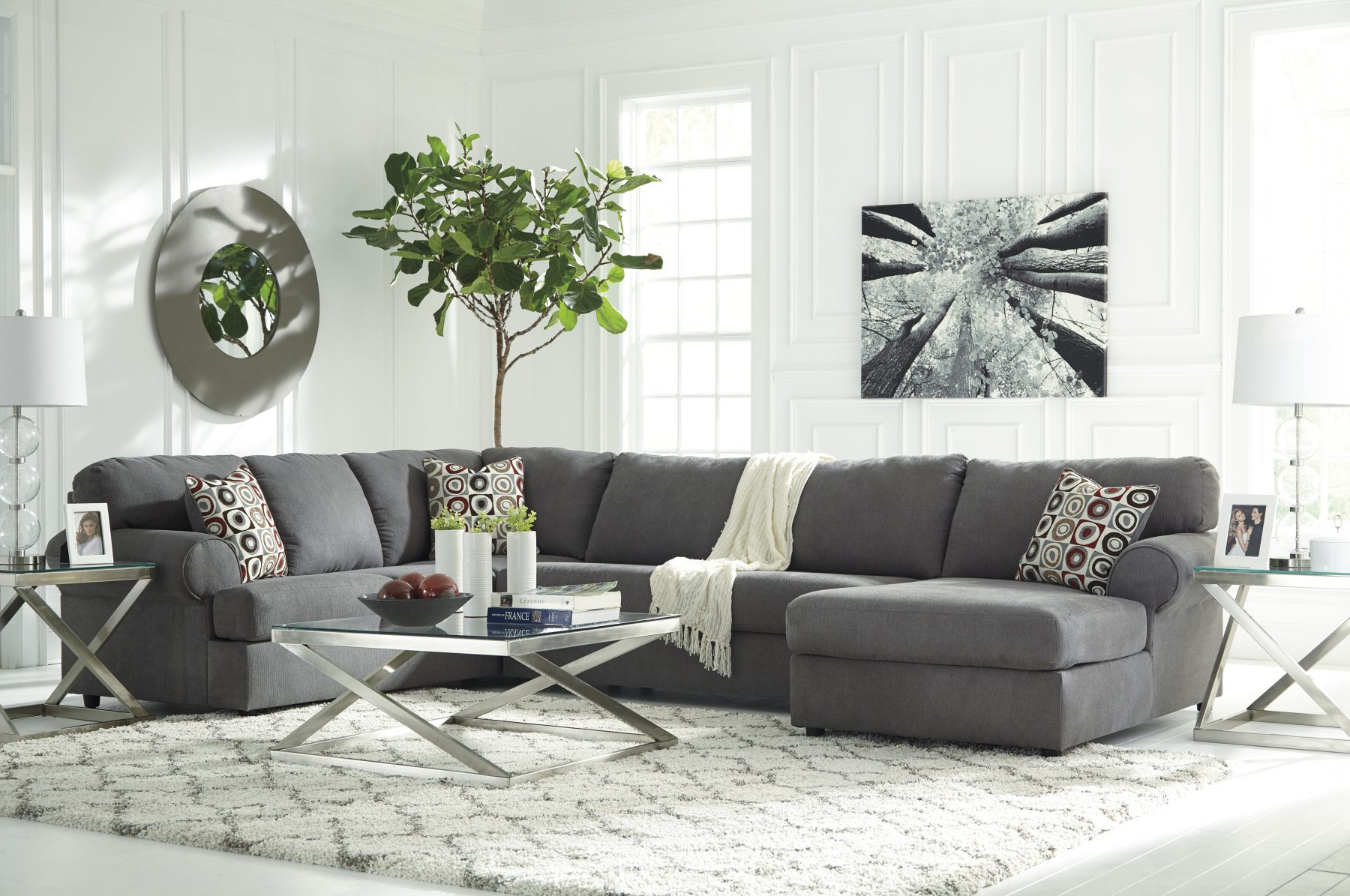 Well Known Karen 3 Piece Sectionals With Regard To Ashley 649 Jayceon 3 Piece Sectional (View 17 of 20)